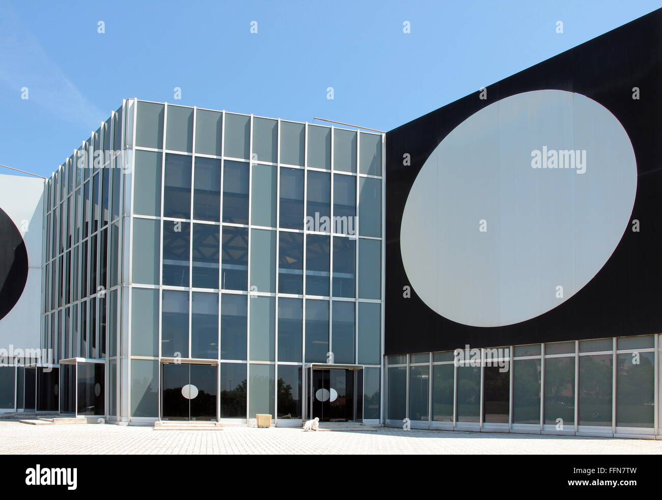 geography / travel, France, Aix-en-Provence,  Foundation Vasarély, exterior view, Additional-Rights-Clearance - Stock Image