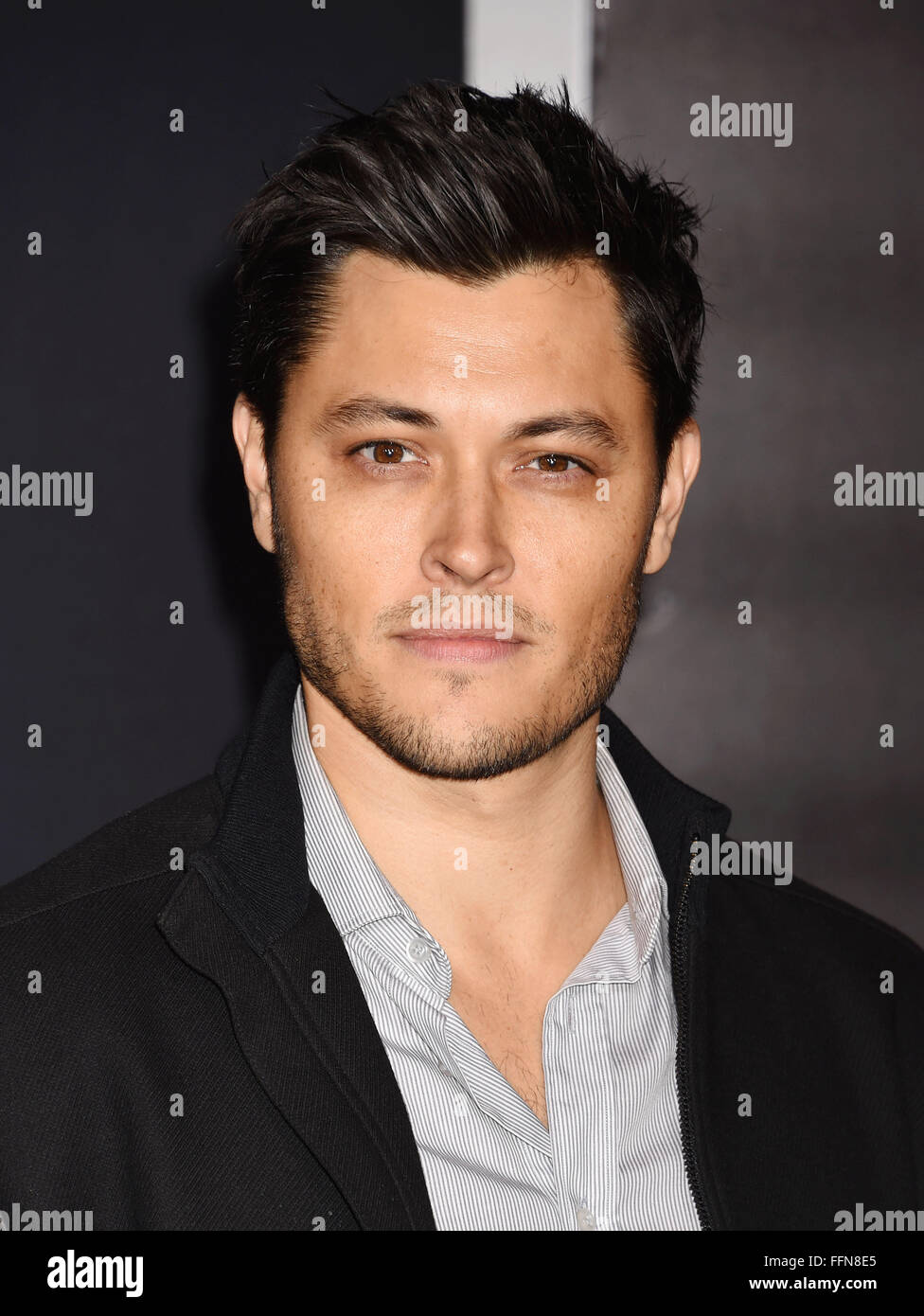 Actor Blair Redford arrives at the premiere of Warner Bros. Pictures' 'Creed' at Regency Village Theatre - Stock Image