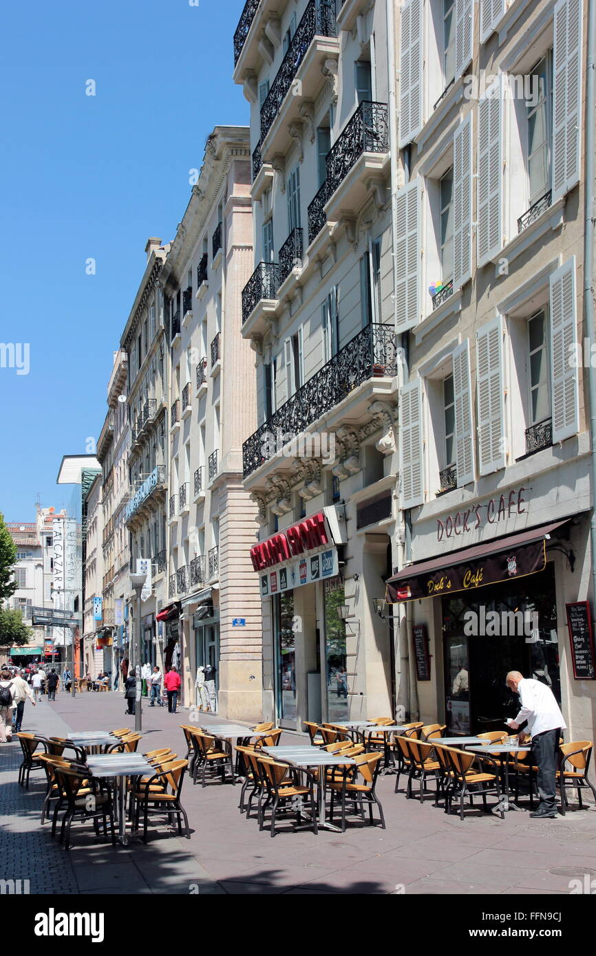 geography / travel, France, Marseille, Cours Belsunce, , Additional-Rights-Clearance-Info-Not-Available - Stock Image
