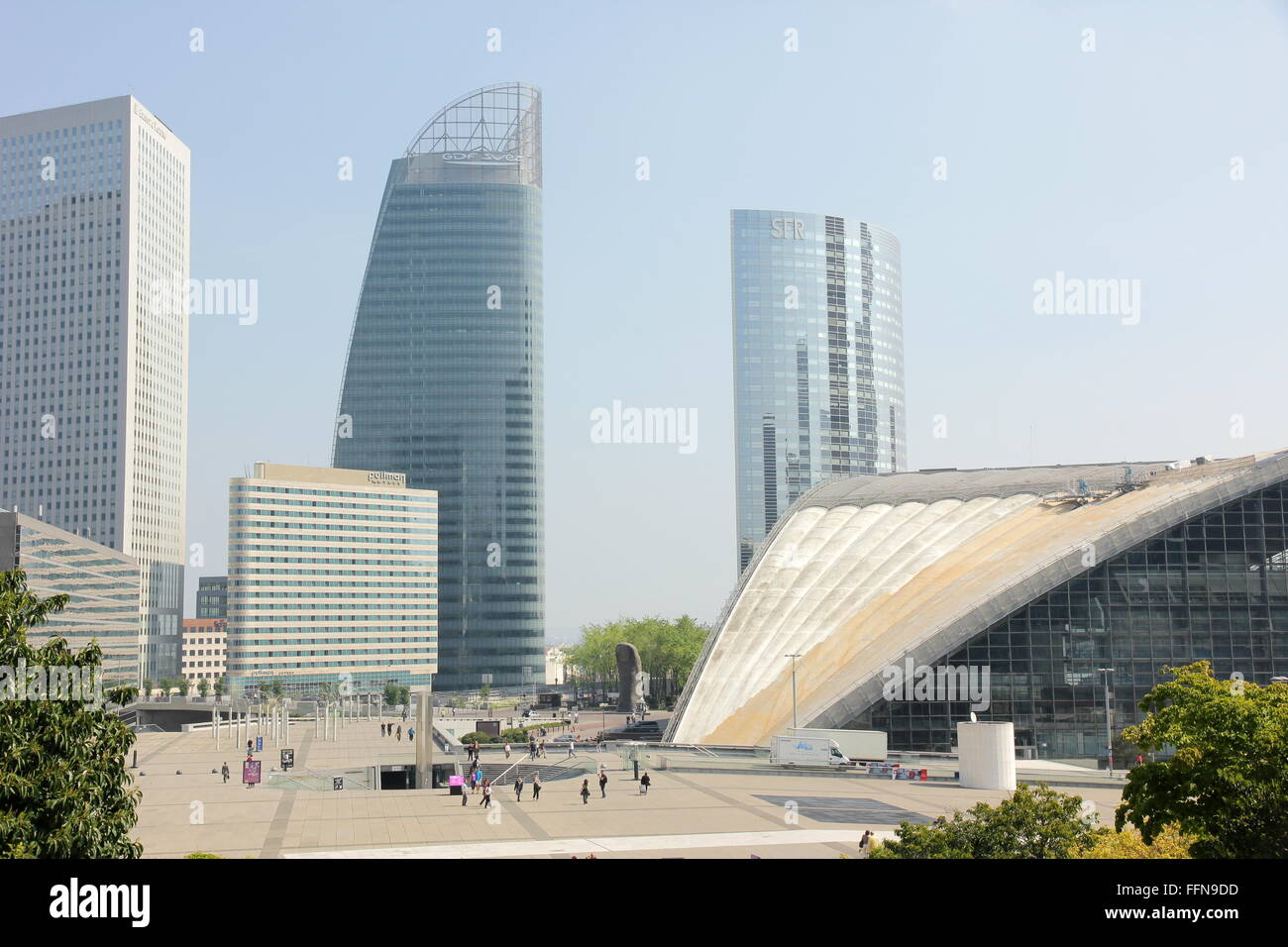 geography / travel, France, Paris, La Defense, , Editorial-Use-Only - Stock Image