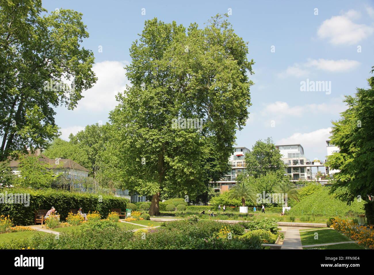 geography / travel, France, Paris, Bercy, Parc de Bercy, - Stock Image