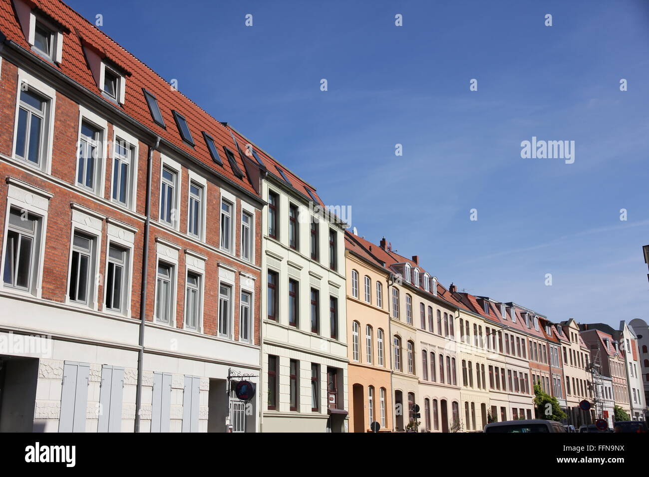 geography / travel, Germany, Mecklenburg-West Pomerania, Wismar, Spiegelberg, Additional-Rights-Clearance-Info-Not - Stock Image