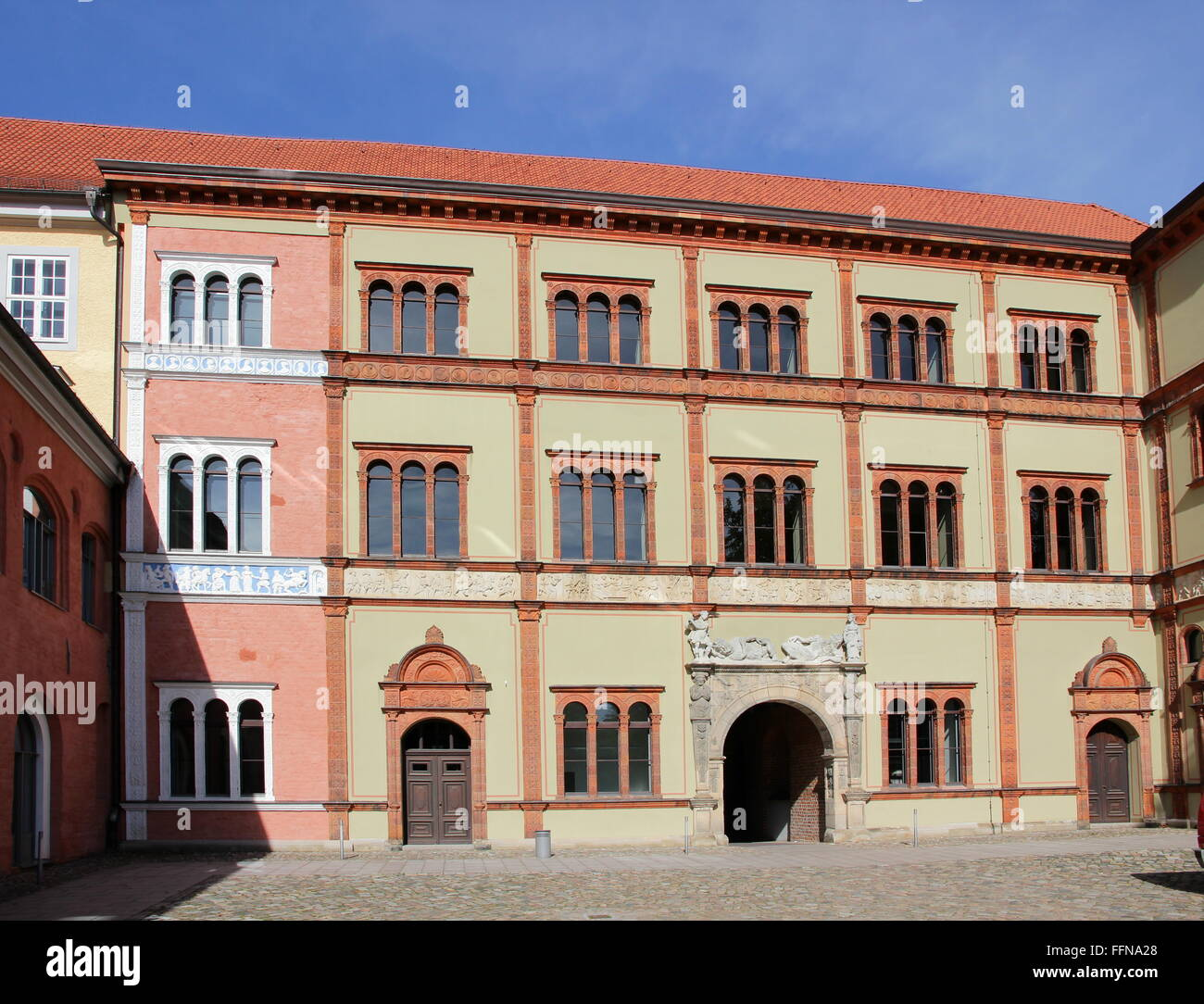 geography / travel, Germany, Mecklenburg-West Pomerania, Wismar, Fuerstenhof, residence of princes, Additional-Rights - Stock Image