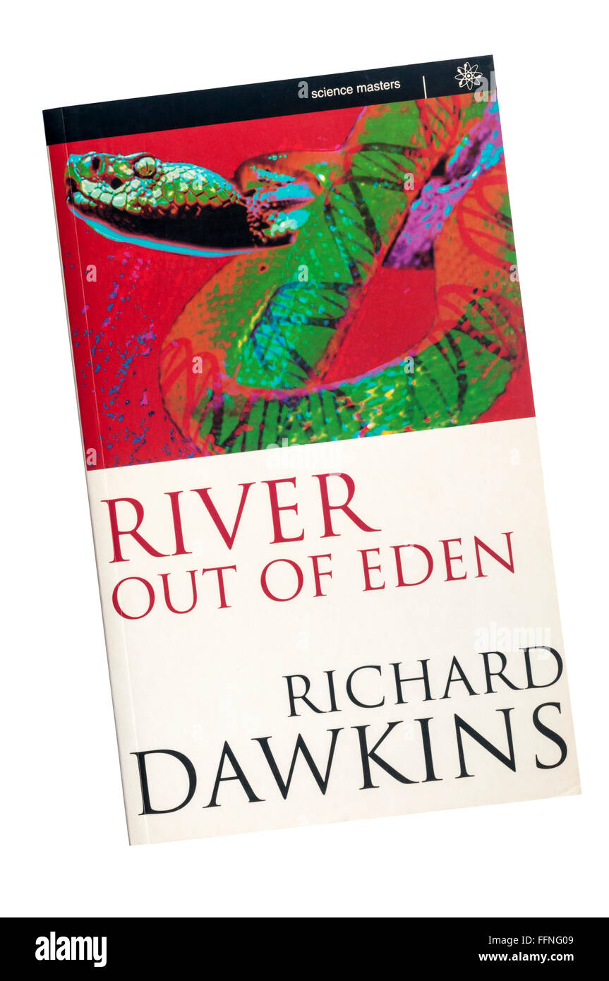 First edition of River Out of Eden by Richard Dawkins. First published in 1995. - Stock Image