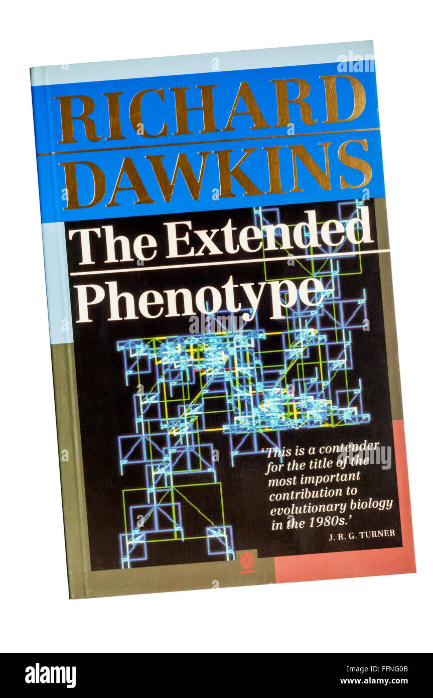 First edition of The Extended Phenotype by Richard Dawkins. First published in 1982. - Stock Image