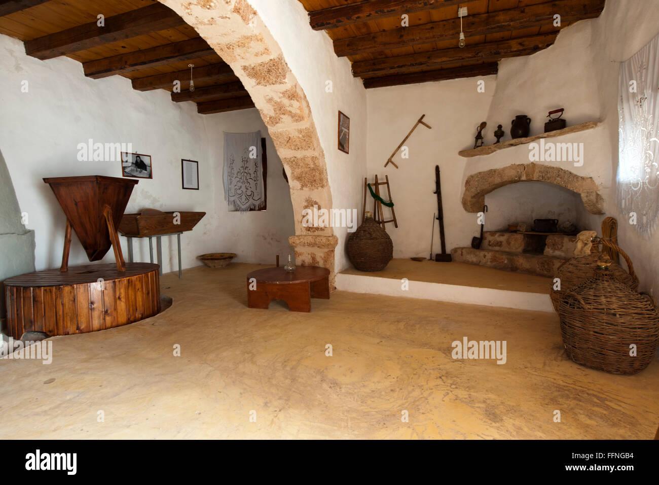 Griechenland, Kreta, Zakros, Wassermühle - Stock Image