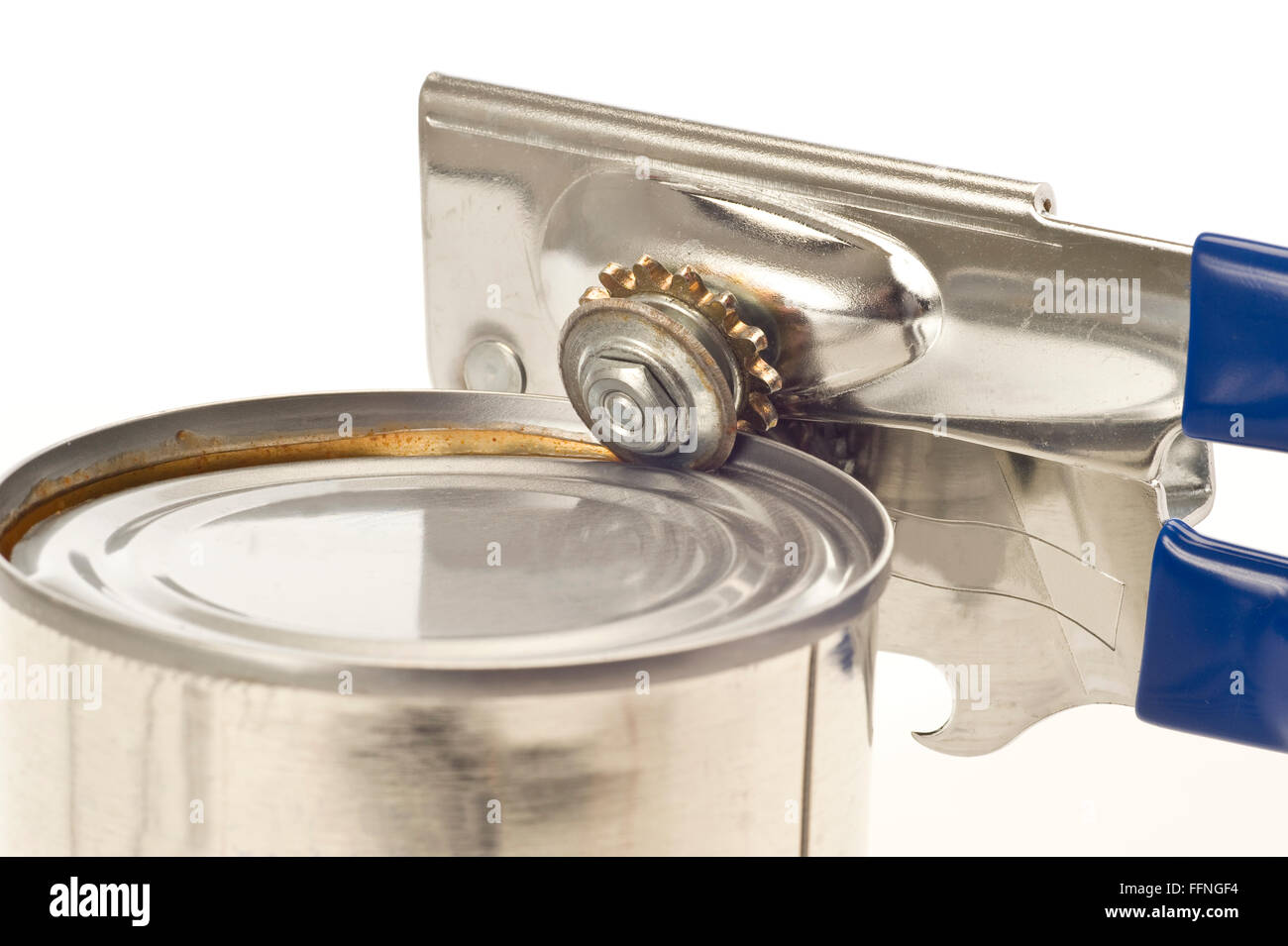 Trusty Old Can Opener - Stock Image