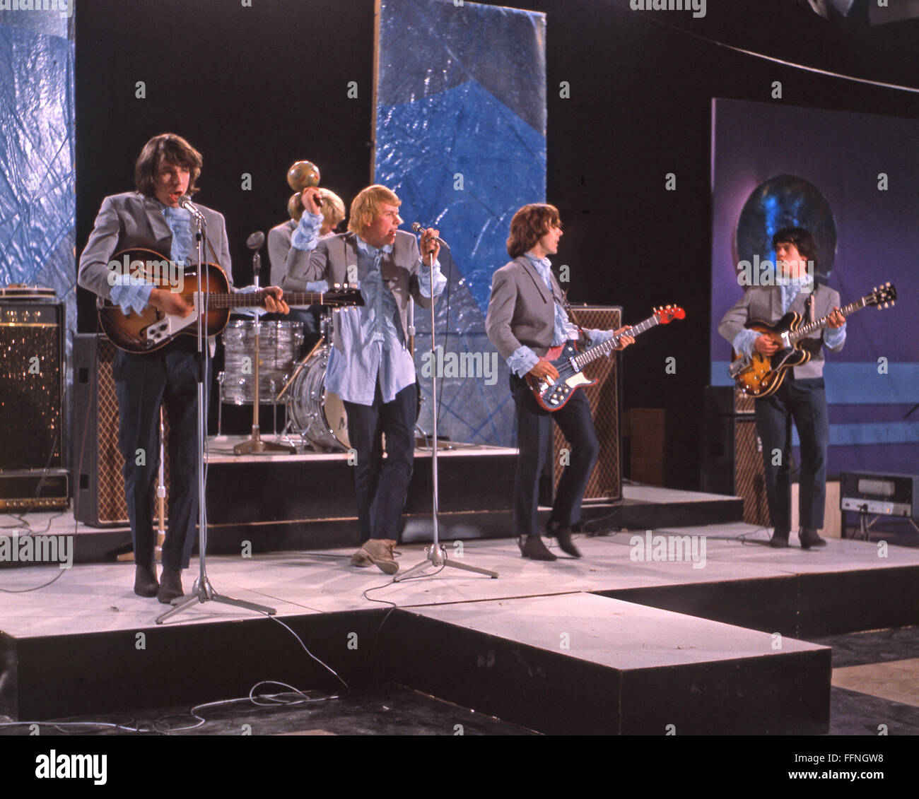BEAT MERCHANTS  English pop group in 1965. Photo Tony Gale - Stock Image