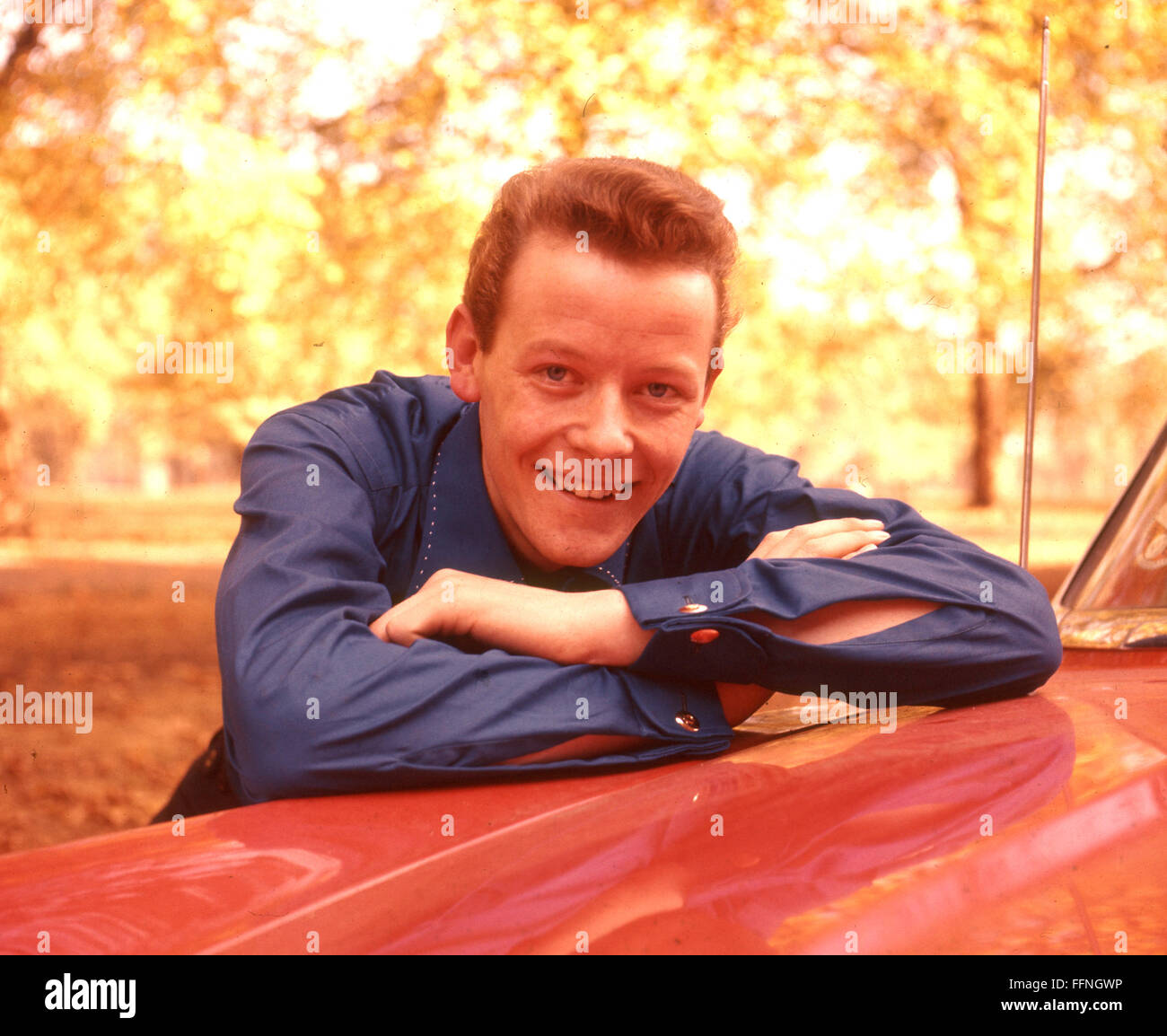 CRAIG DOUGLAS English pop singer about 1959 - Stock Image