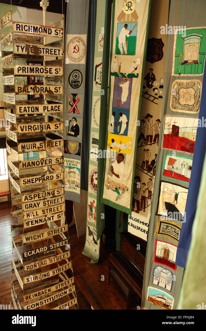 The District 6 Museum,  Cape Town, South Africa - Stock Image