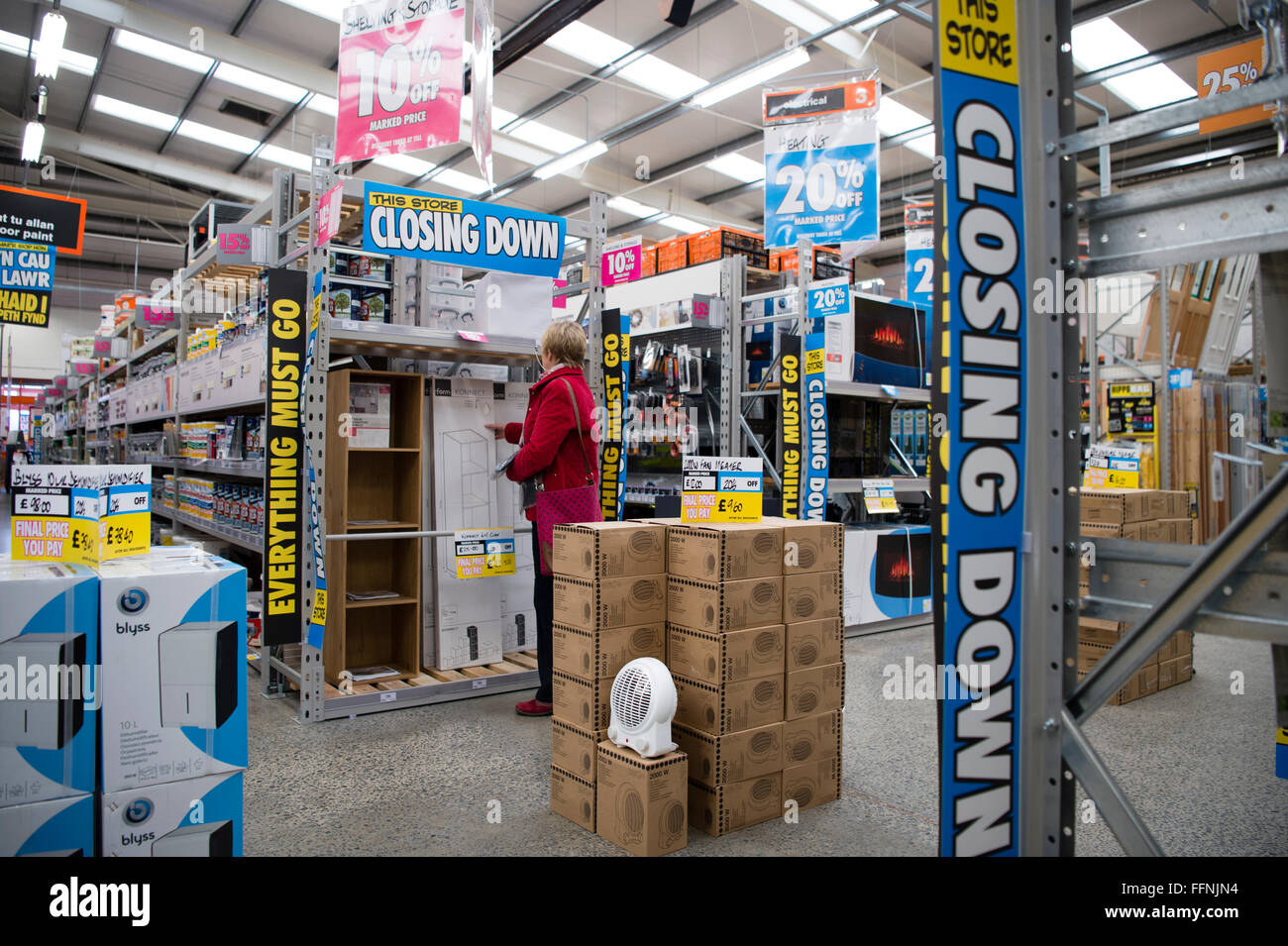 Inside a branch of bq b and q diy do it yourself shop store in inside a branch of bq b and q diy do it yourself shop store in the weks prior to its closing down uk solutioingenieria Image collections