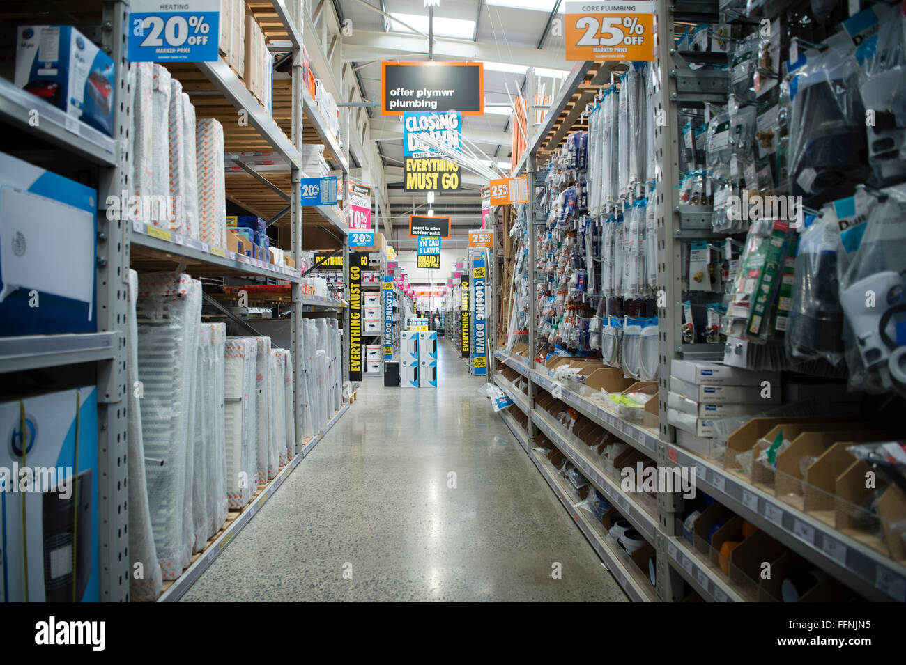 Do it yourself shop stock photos do it yourself shop stock images inside a branch of bq b and q diy do it yourself solutioingenieria Gallery