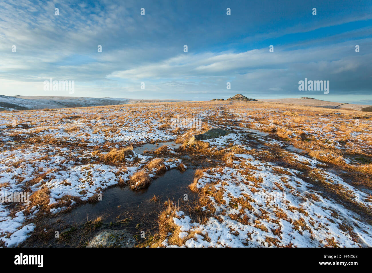 Dartmoor Winter Stock Photos Amp Dartmoor Winter Stock