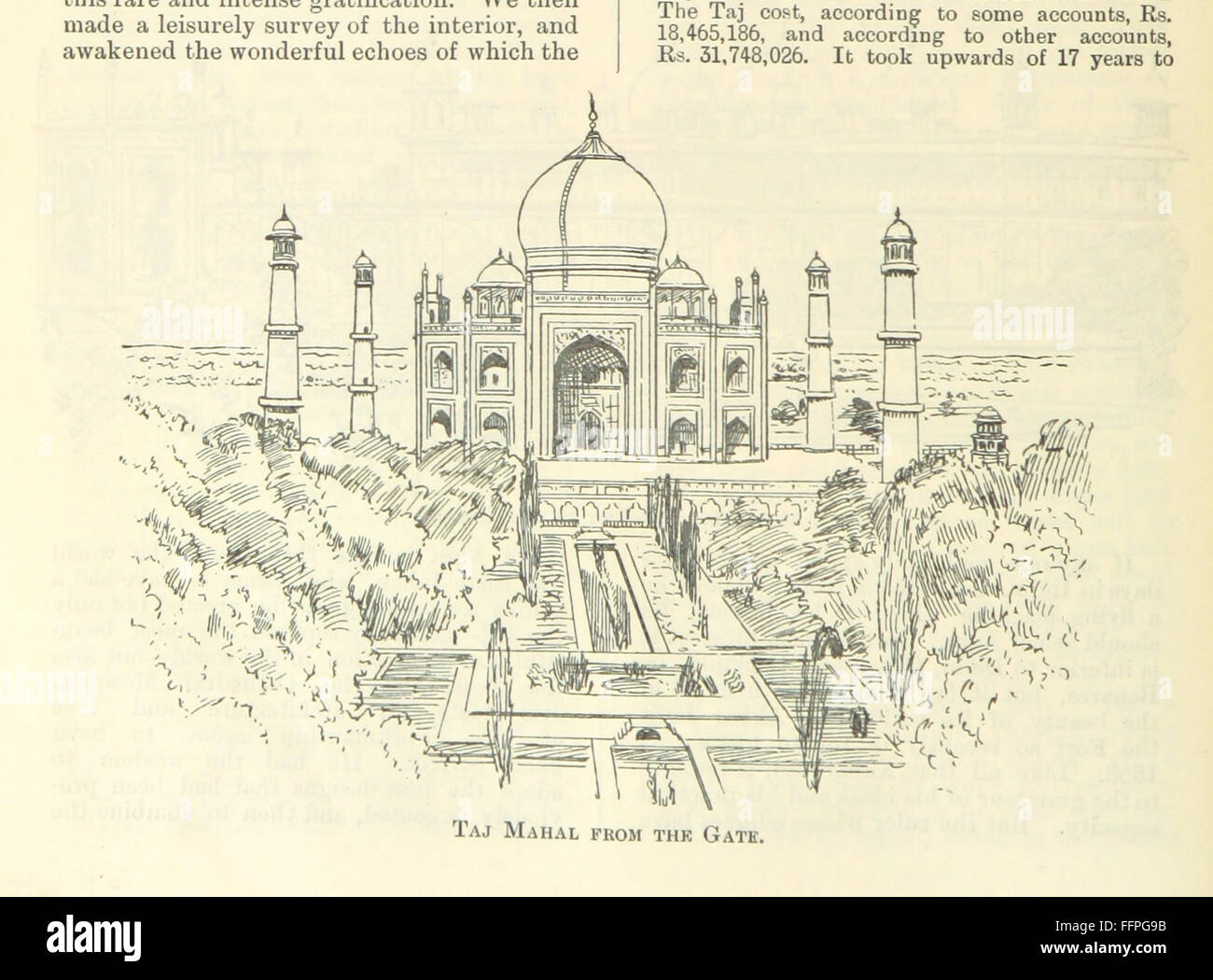 8 of 'Letters from India and Ceylon, including the Manchester of India, the Indian Dundee, and Calcutta jute - Stock Image