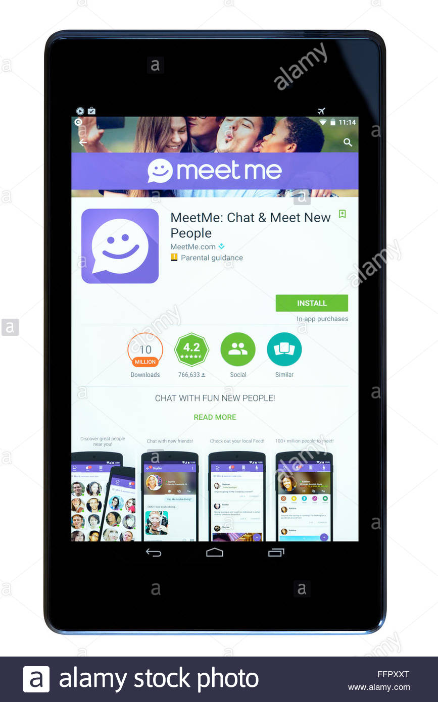 Meetme mobile app for android