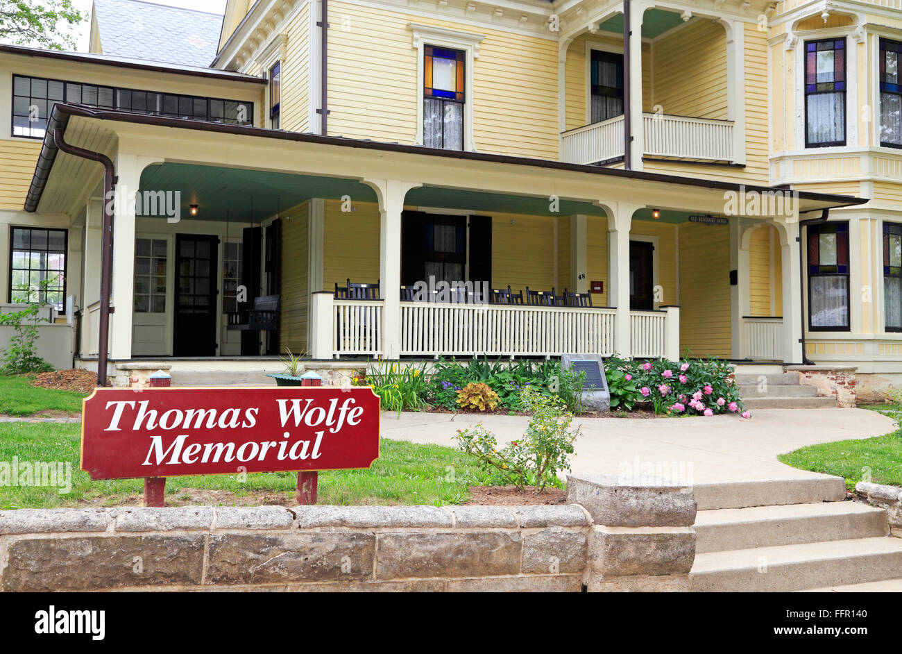 Thomas Wolfe Memorial in Asheville, North Carolina. - Stock Image