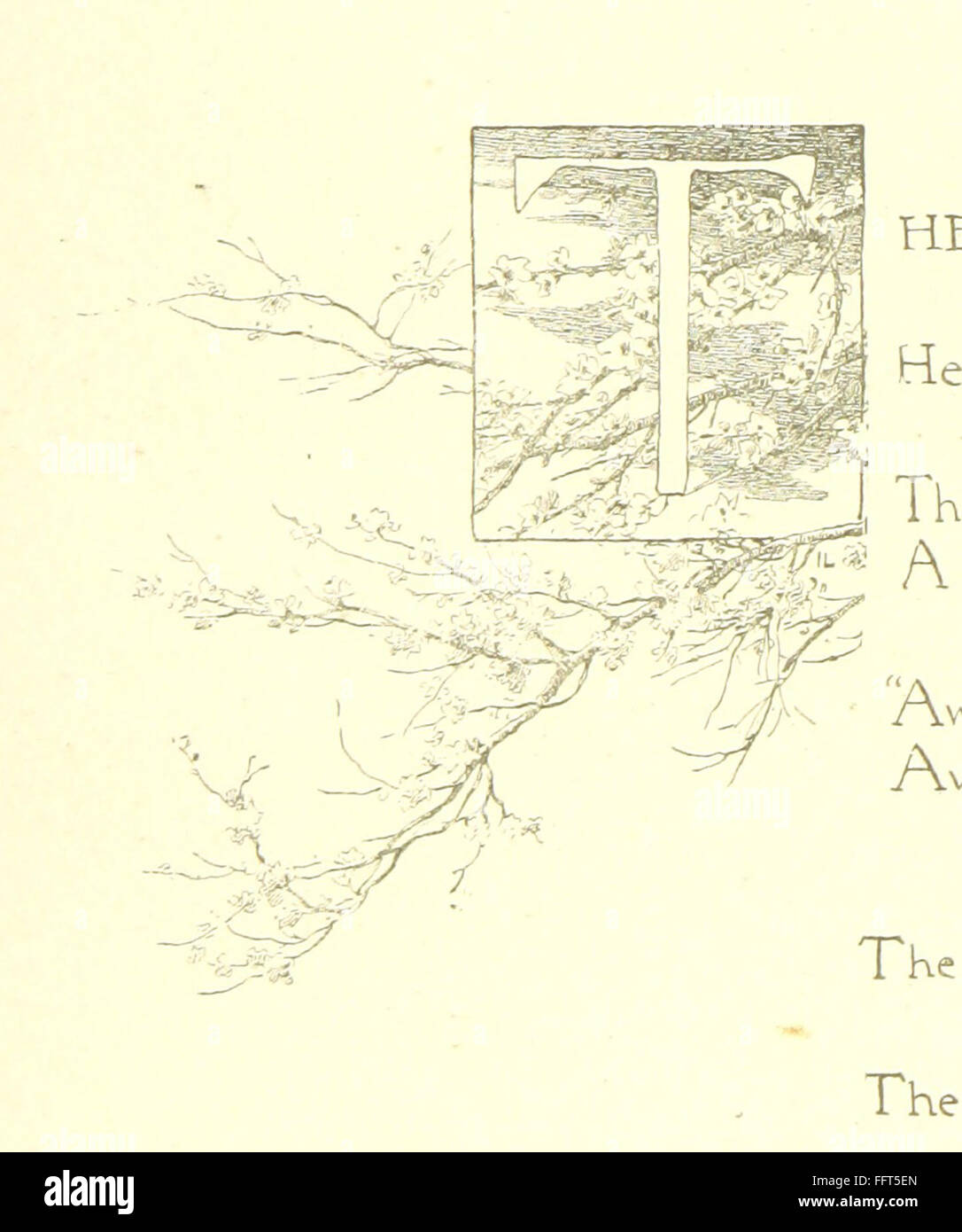 2 of 'The Beautiful World and other poems, by Helen J. Wood, Helen M. Waithman, and Ethel Dawson. Illustrated' - Stock Image