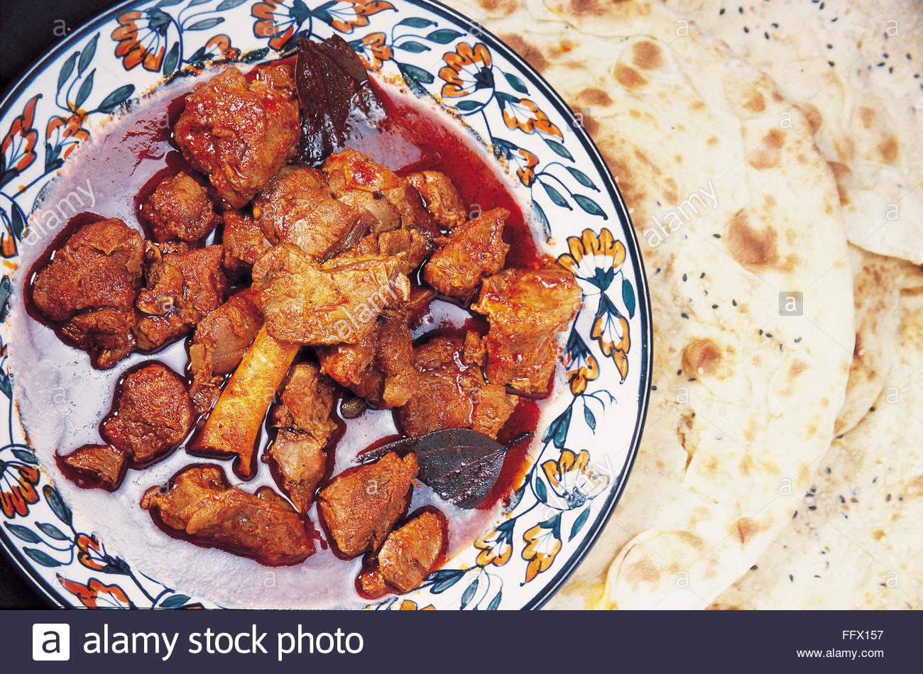 Rogan josh meat aromatic lamb dish Kashmir India - DPA ALI - Stock Image
