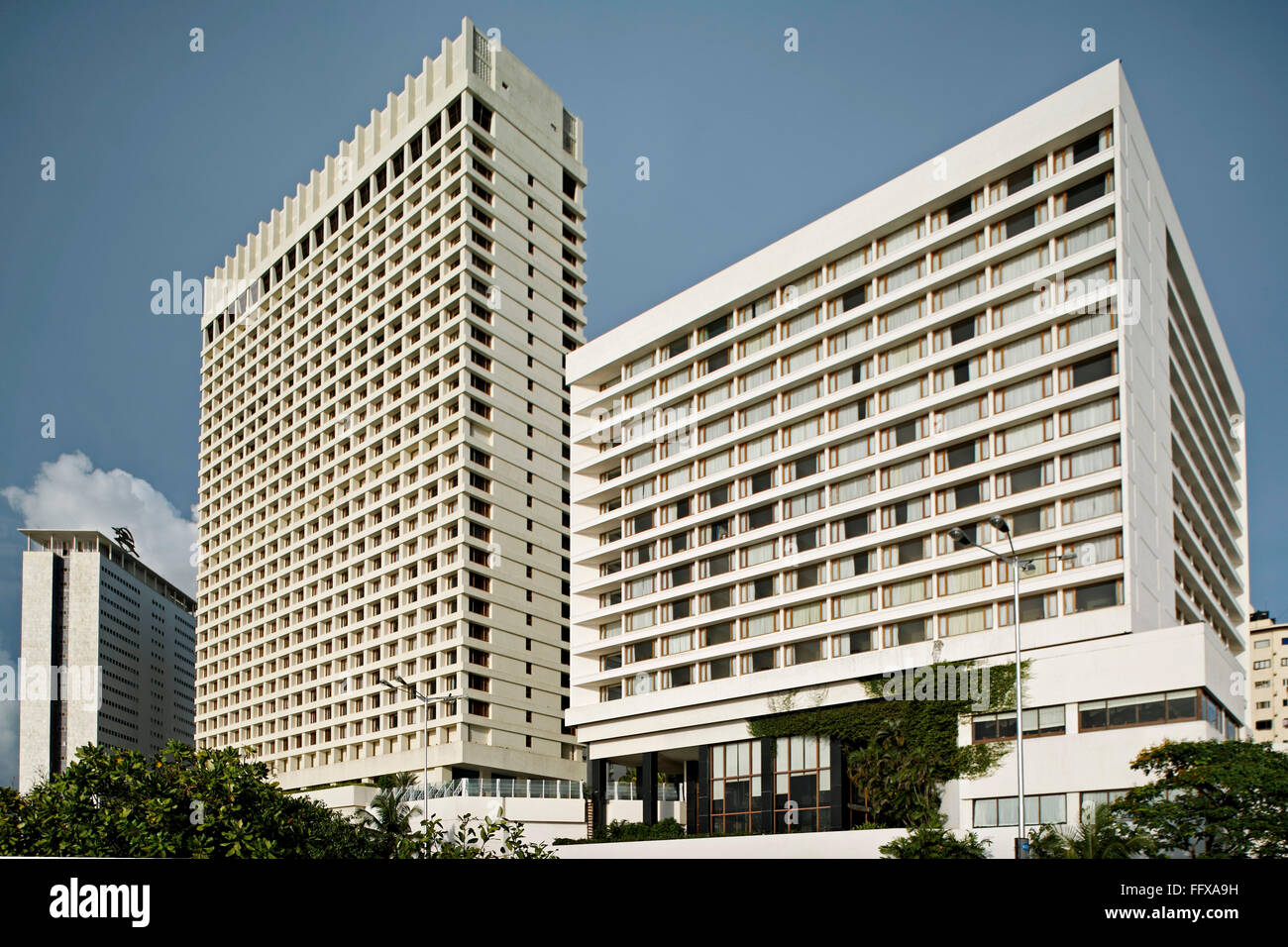 Air India building and Hilton Hotel at Bombay Mumbai