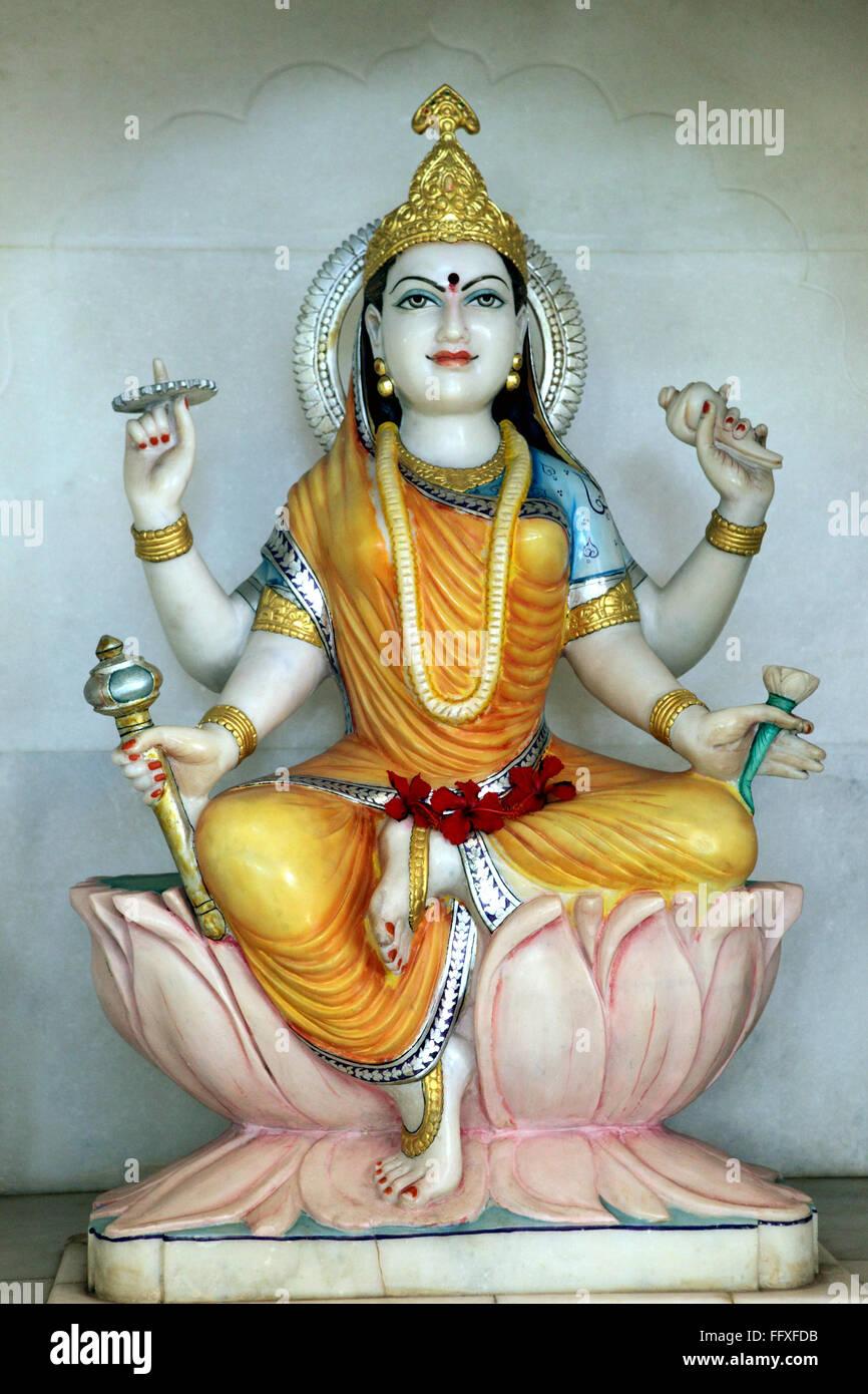 Maa Durga ninth aspect Maa Sidhidaatri - Stock Image