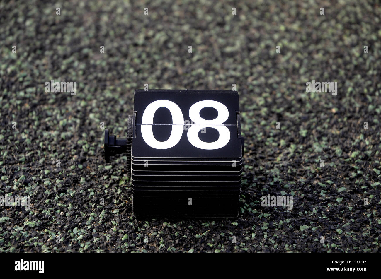 number eight 8 - Stock Image