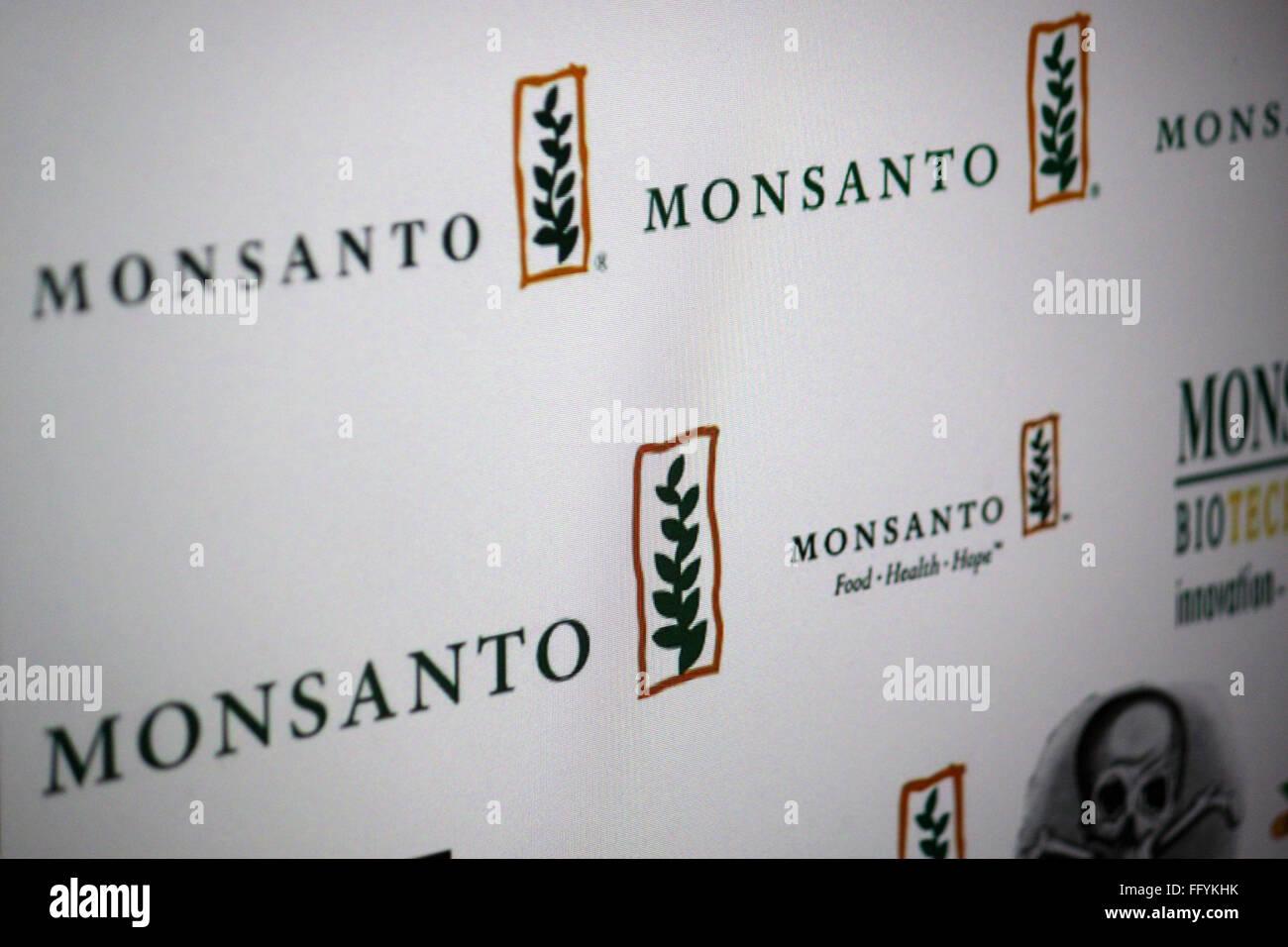 Markenname: 'Monsanto'. - Stock Image
