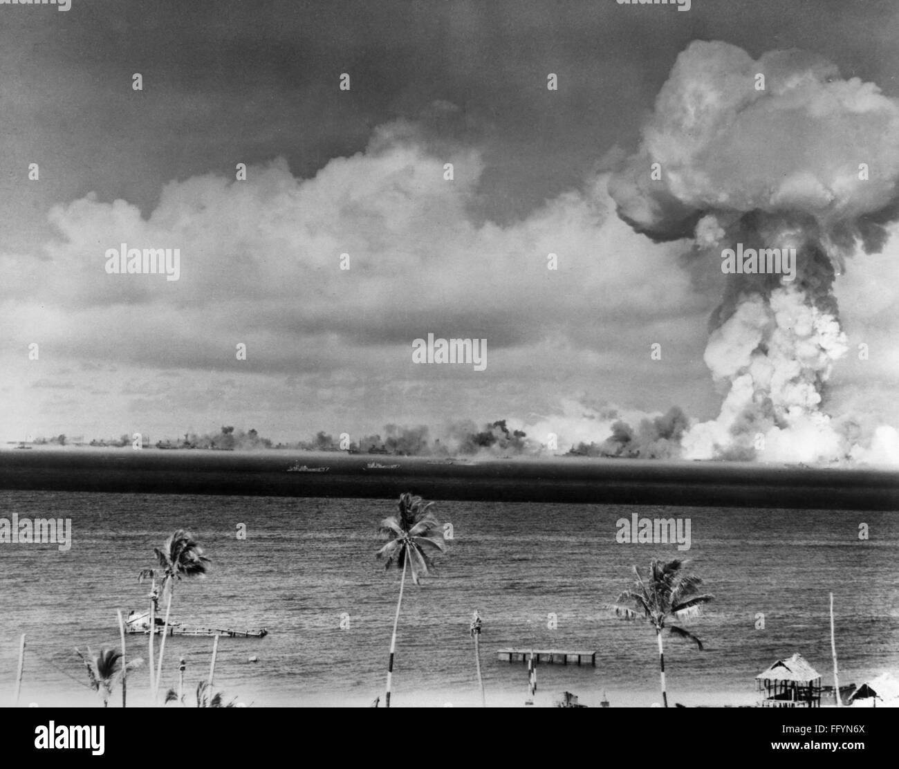 bikini bomb test Photo