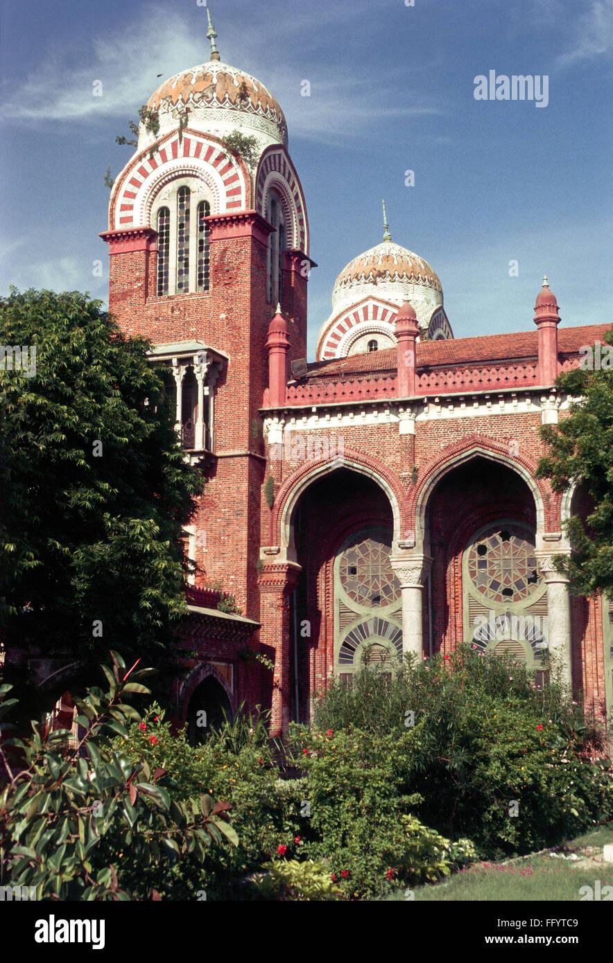 University Of Madras Stock Photos & University Of Madras