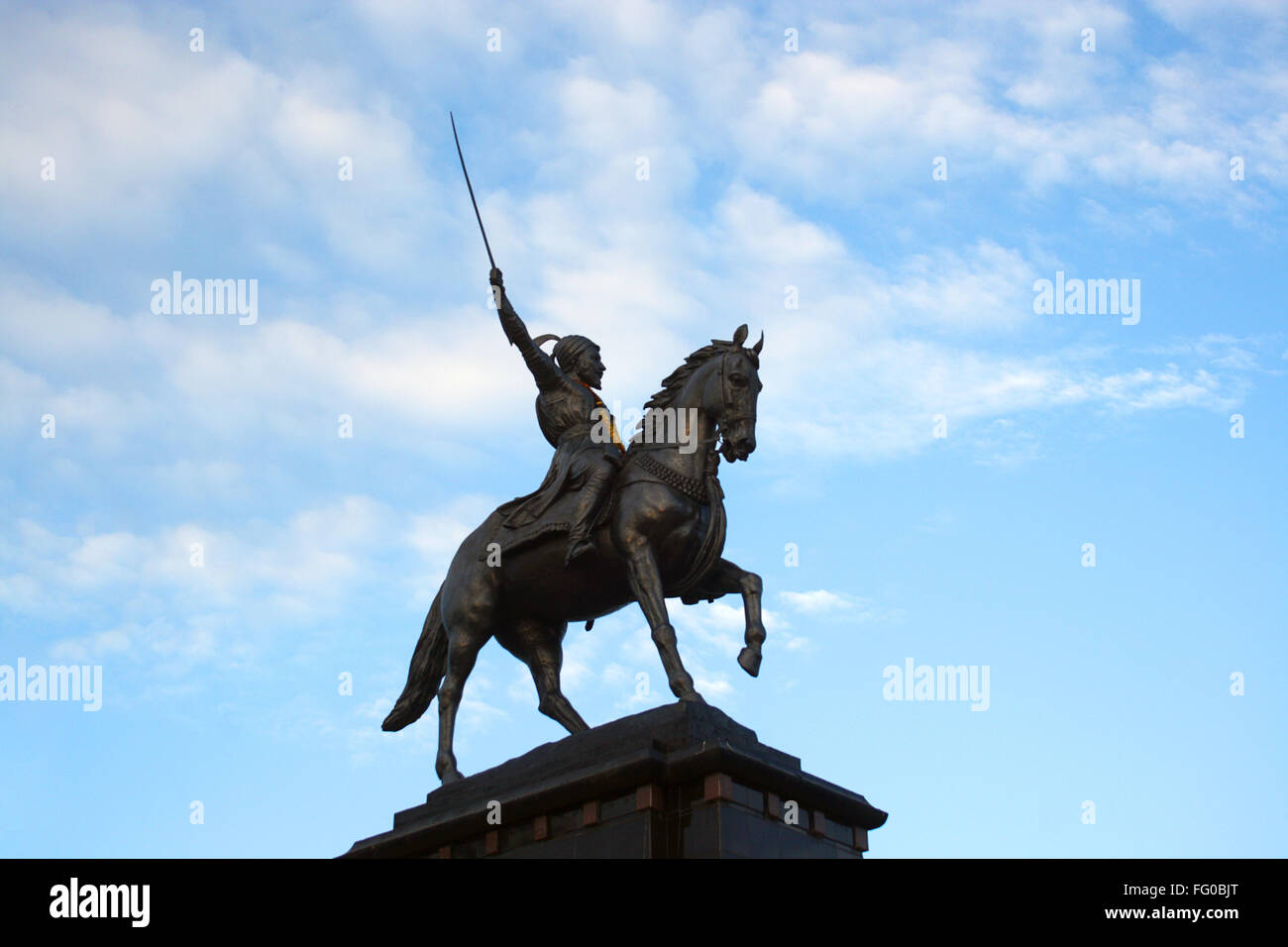 Shivaji Statue Stock Photos Shivaji Statue Stock Images Alamy
