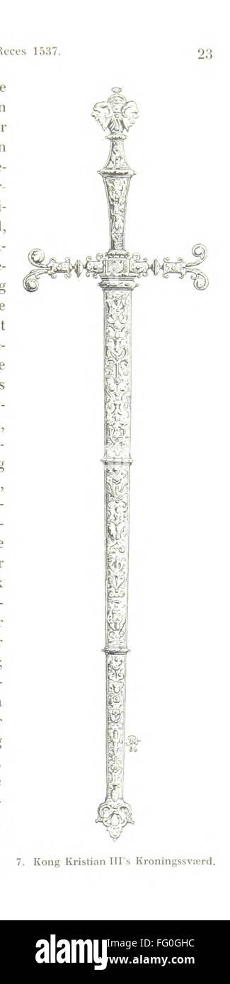 59 of 'Danmarks Riges Historie af J. Steenstrup, Kr. Erslev, A. Heise, V. Mollerup, J. A. Fridericia, E. Holm, - Stock Image