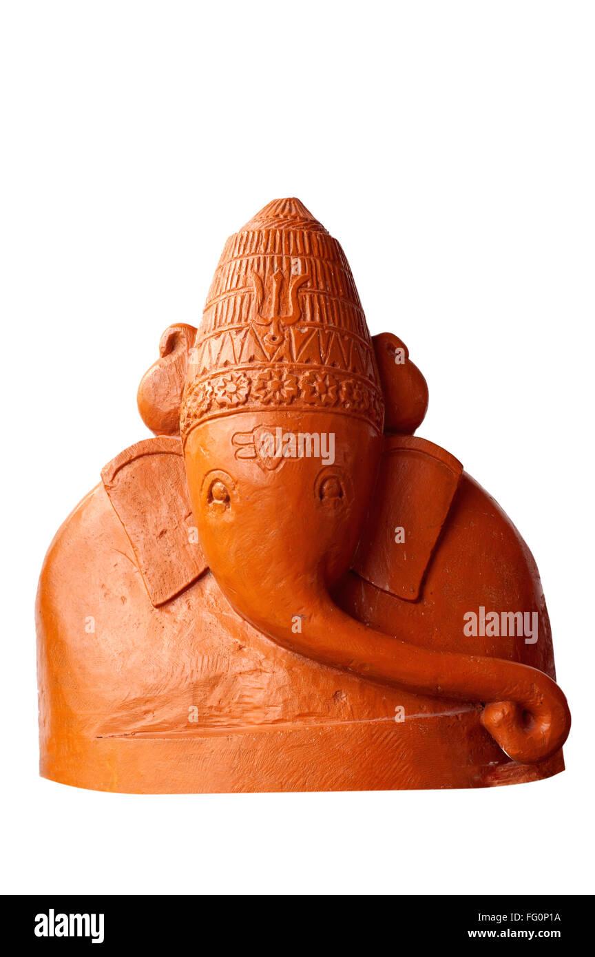 Replica of ashtavinayaka shree ballaleshwar of pali ; Raigad ; Maharashtra ; India 2010 - Stock Image