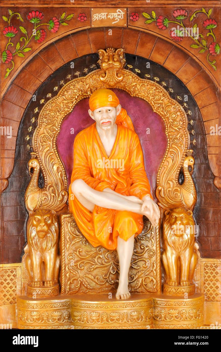Statue of lord sai baba