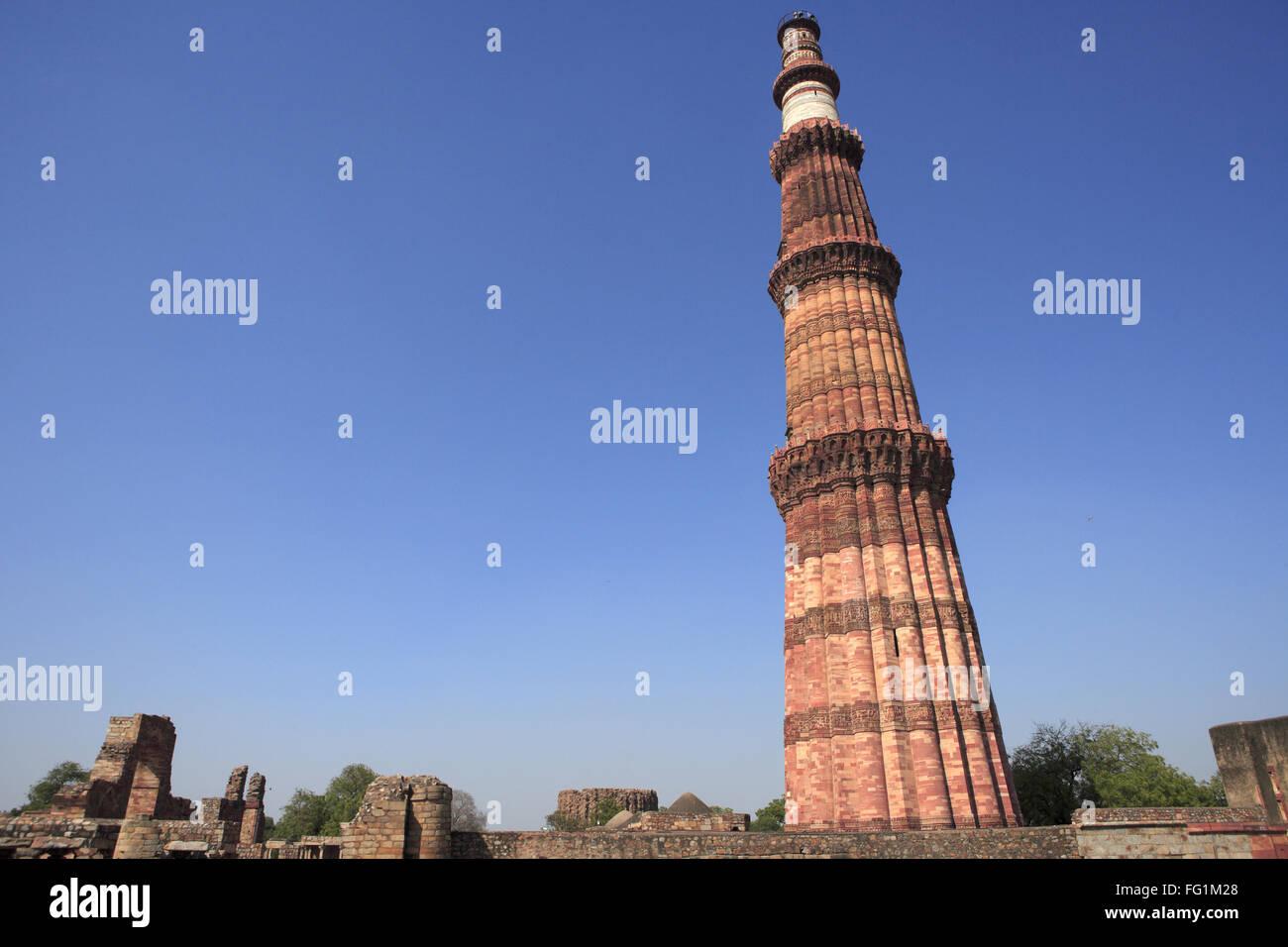 db56771eaa98 Qutab Minar built in 1311red sandstone tower