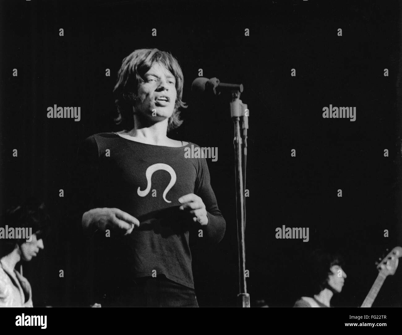The rolling stones 1969 nmick jagger performs with the rolling nmick jagger performs with the rolling stones keith richards in background at madison square garden in new york november 27 1969 workwithnaturefo
