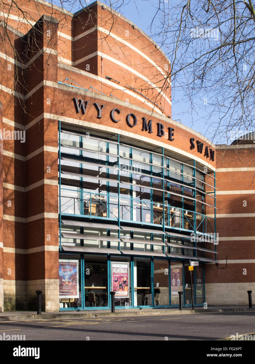 The Wycombe Swan theatre, High Wycombe, Buckinghamshire, UK. Stock Photo