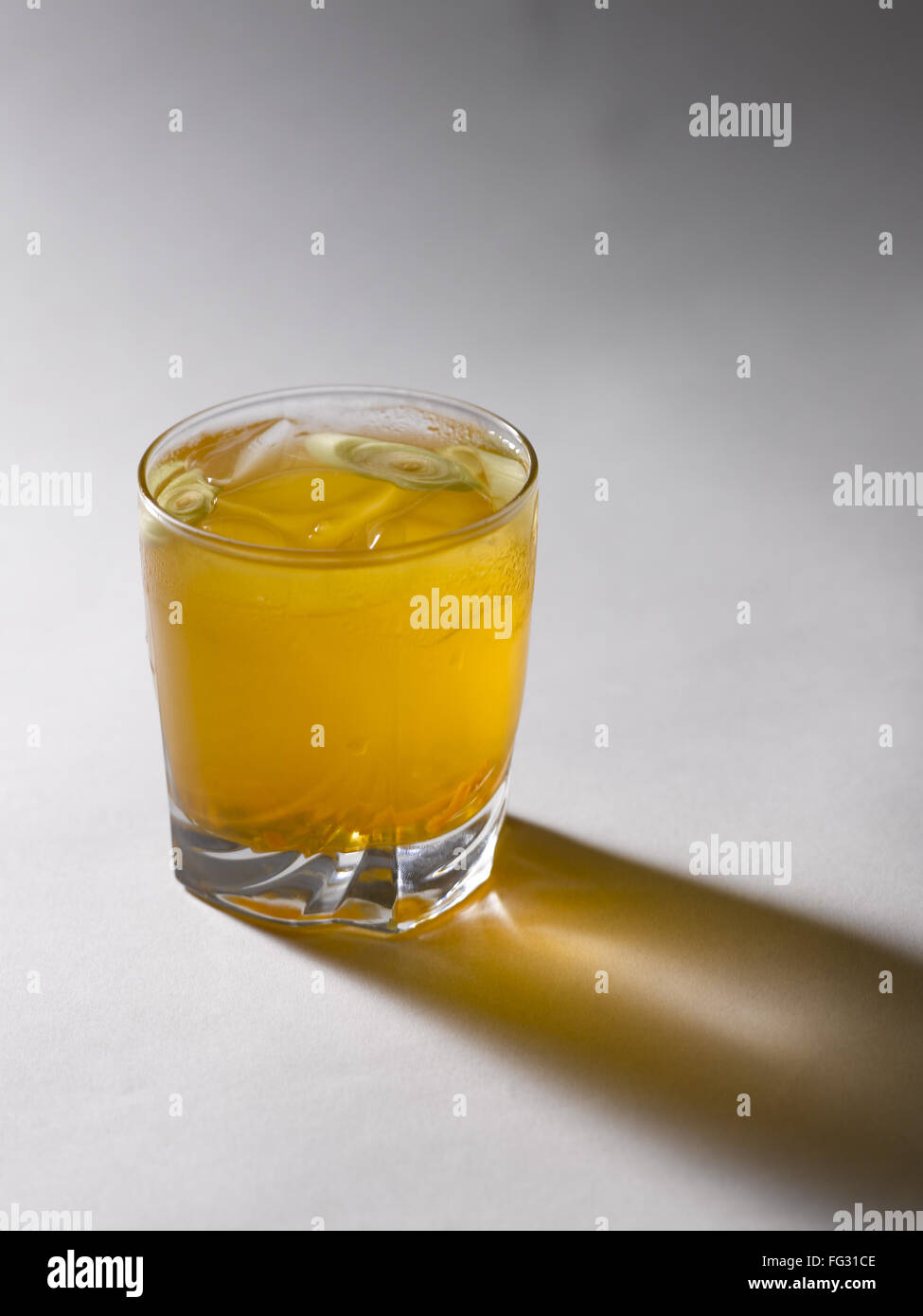 Lemongrass and Ginger Cooler India - Stock Image