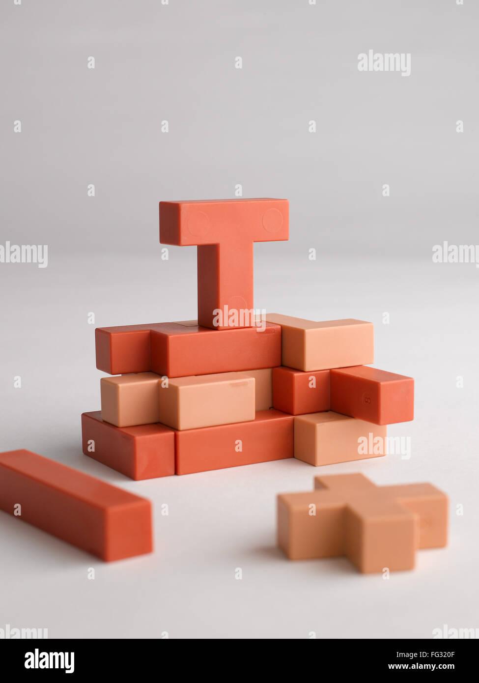 puzzle India - Stock Image