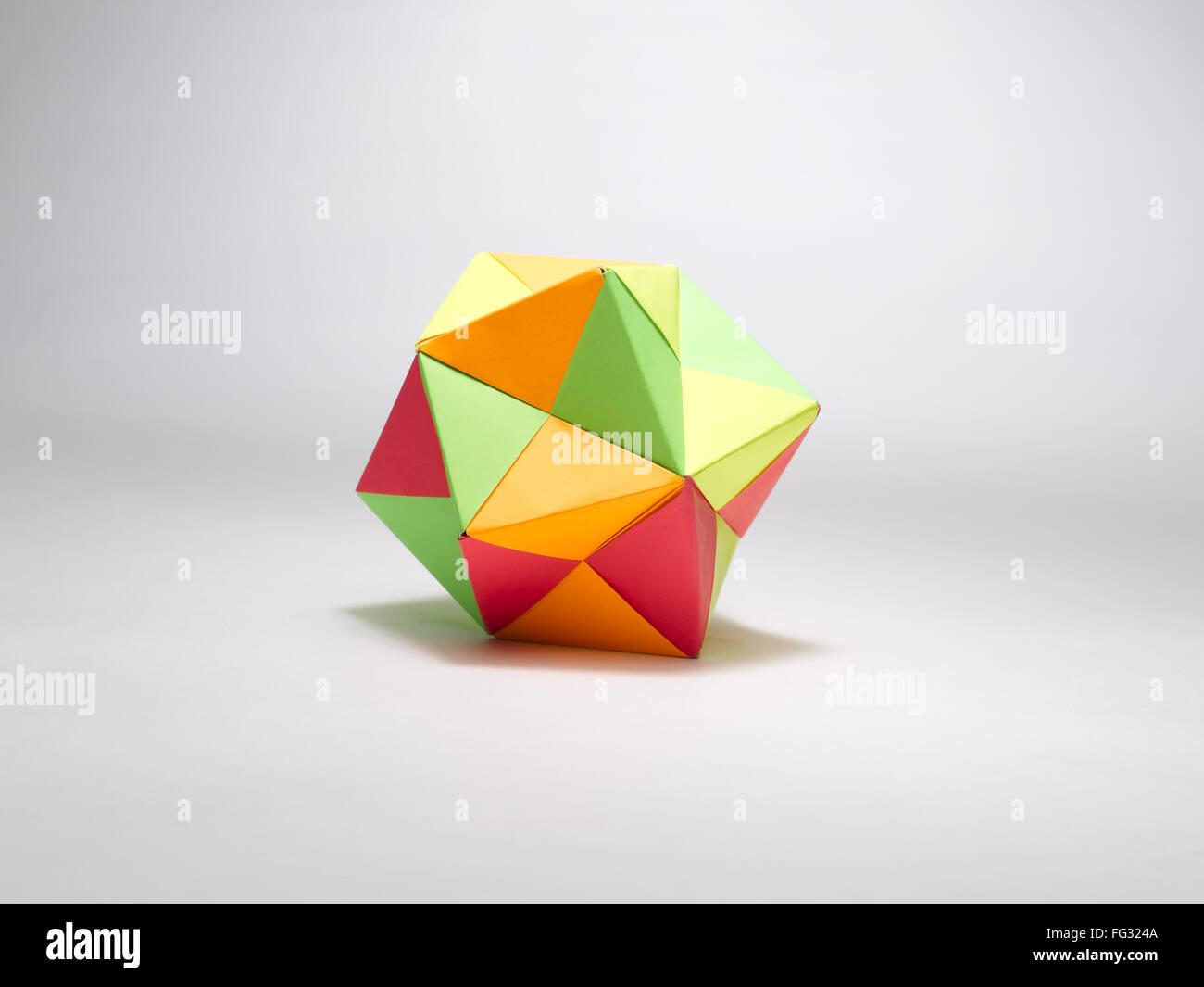 origami multIplex ball India - Stock Image