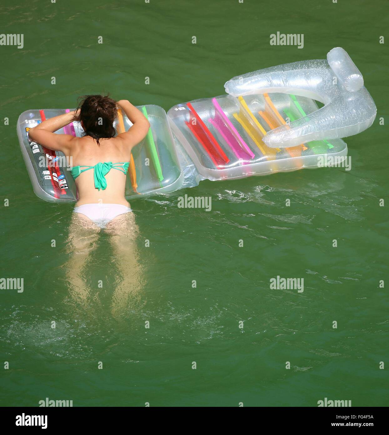 Float Floating Bikini Stock Photos Amp Float Floating Bikini