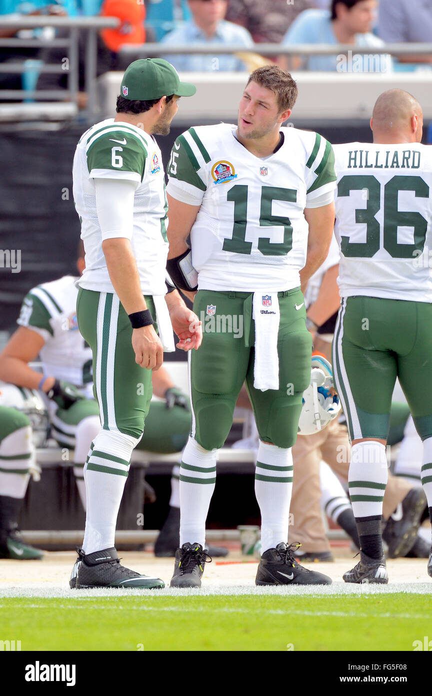 Tim Tebow Jets Stock Photos   Tim Tebow Jets Stock Images - Alamy 21b3d94f5