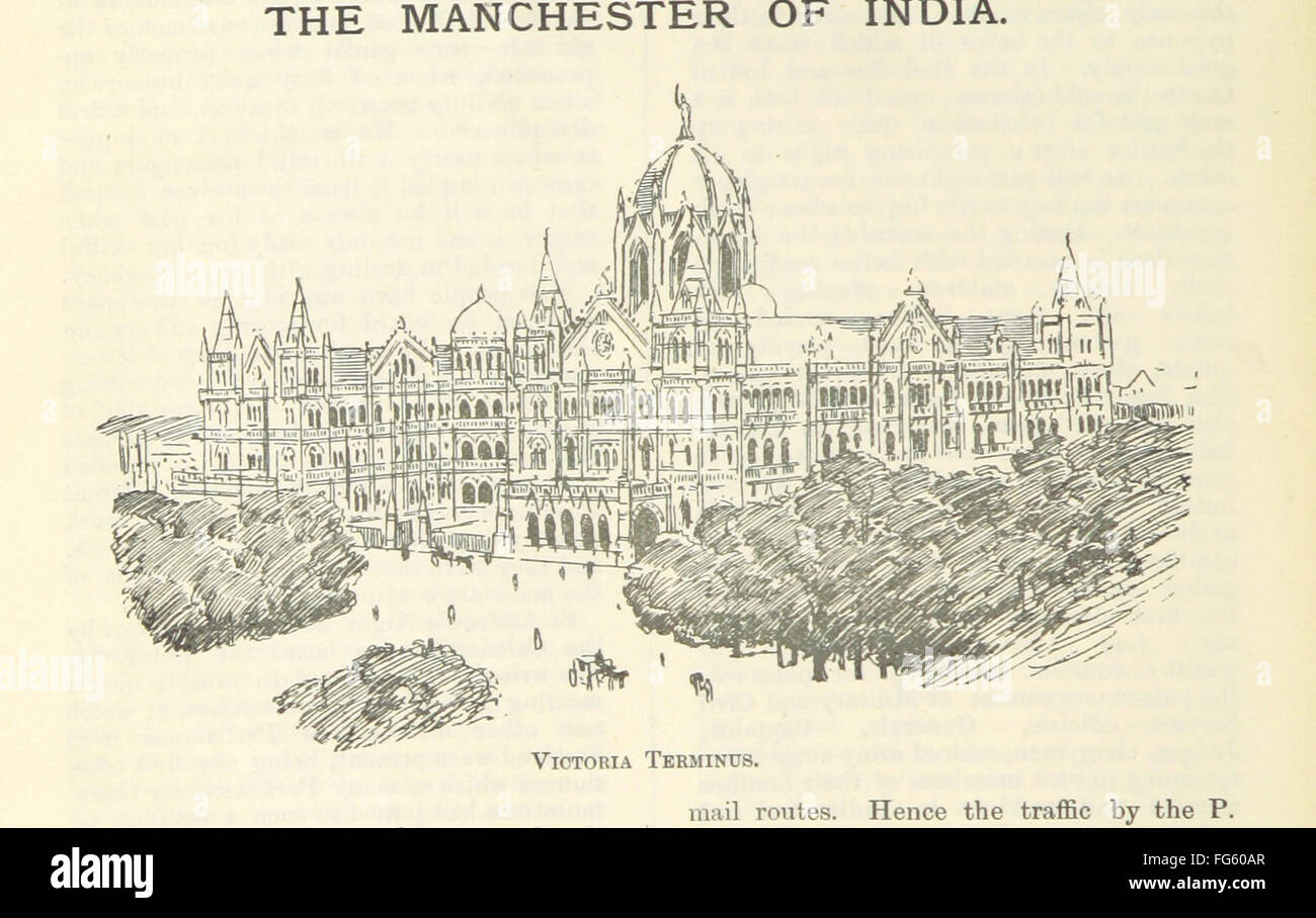 6 of 'Letters from India and Ceylon, including the Manchester of India, the Indian Dundee, and Calcutta jute - Stock Image