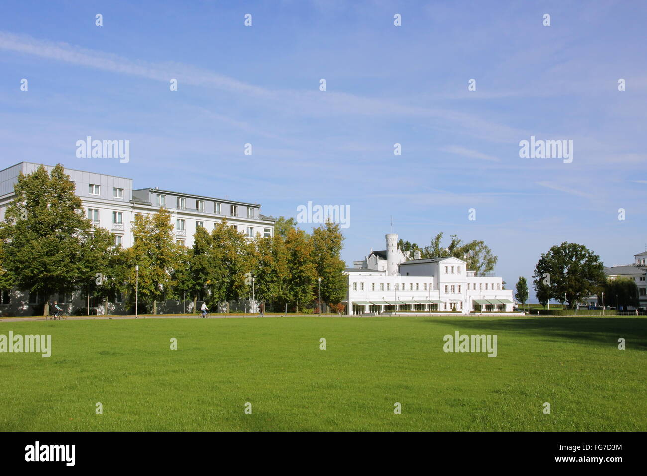 geography / travel, Germany, Mecklenburg-West Pomerania, Baltic sea spa Heiligendamm, , Additional-Rights-Clearance - Stock Image
