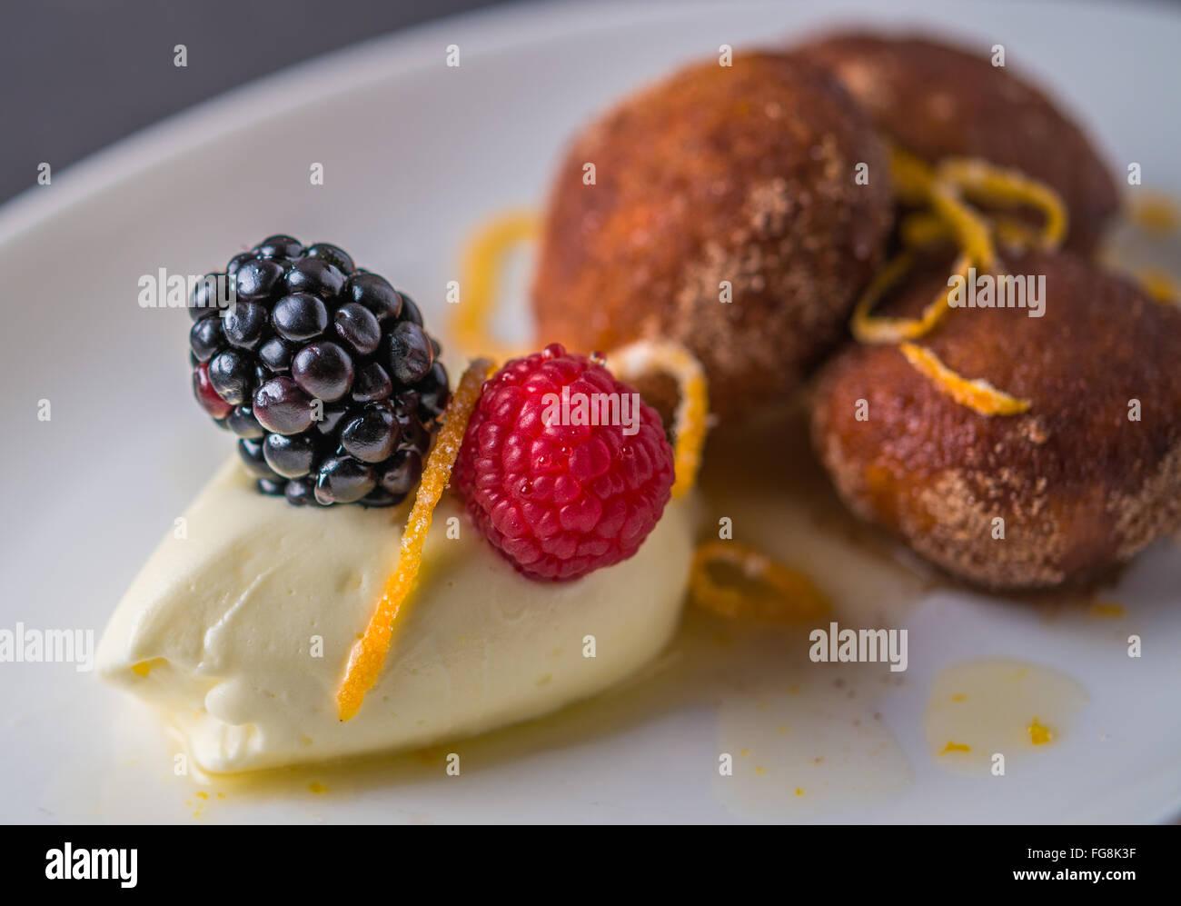 Sweets Pub Grub - Stock Image