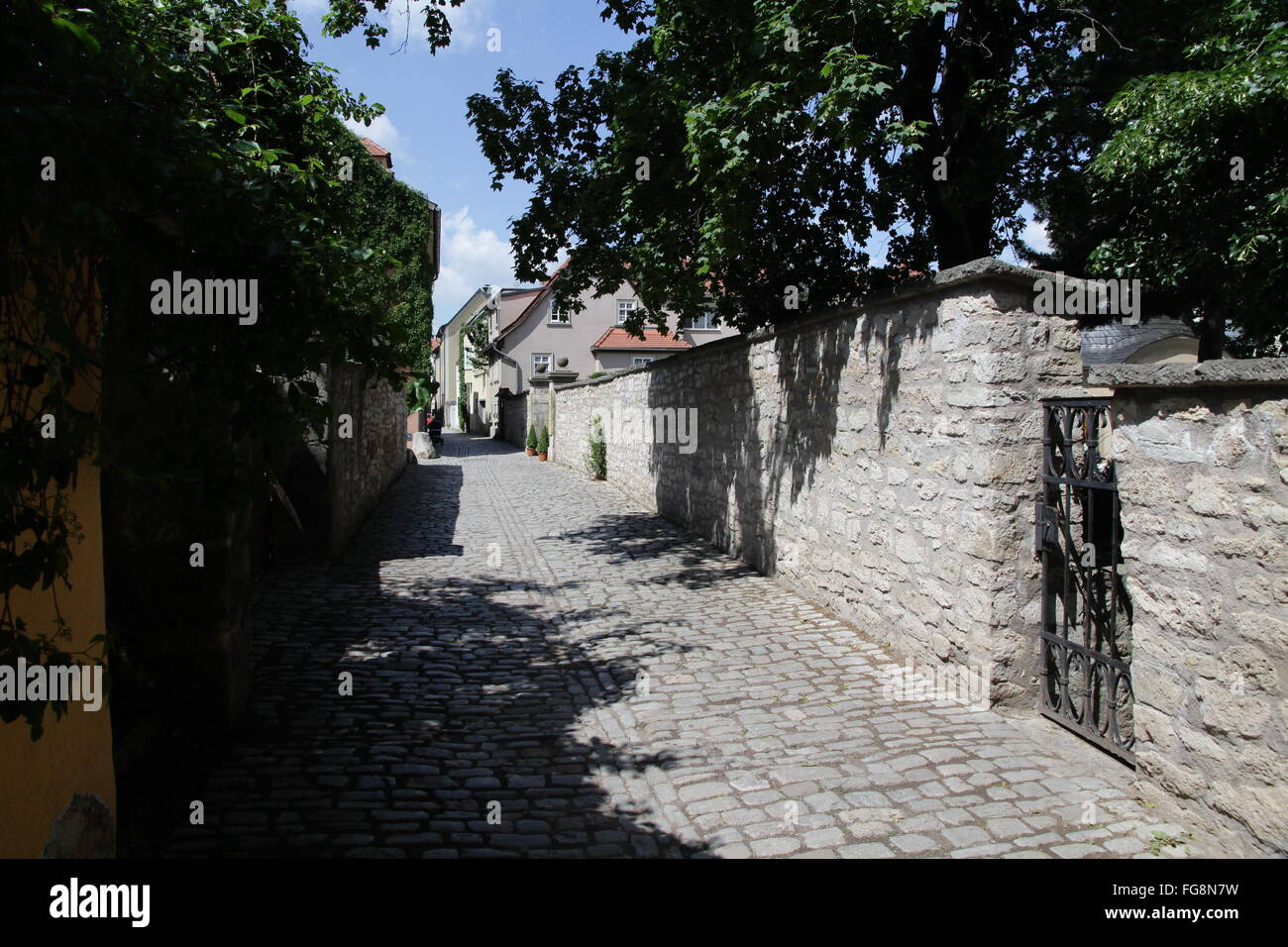 geography / travel, Germany, Thuringia, Weimar, Seifengasse, Additional-Rights-Clearance-Info-Not-Available - Stock Image