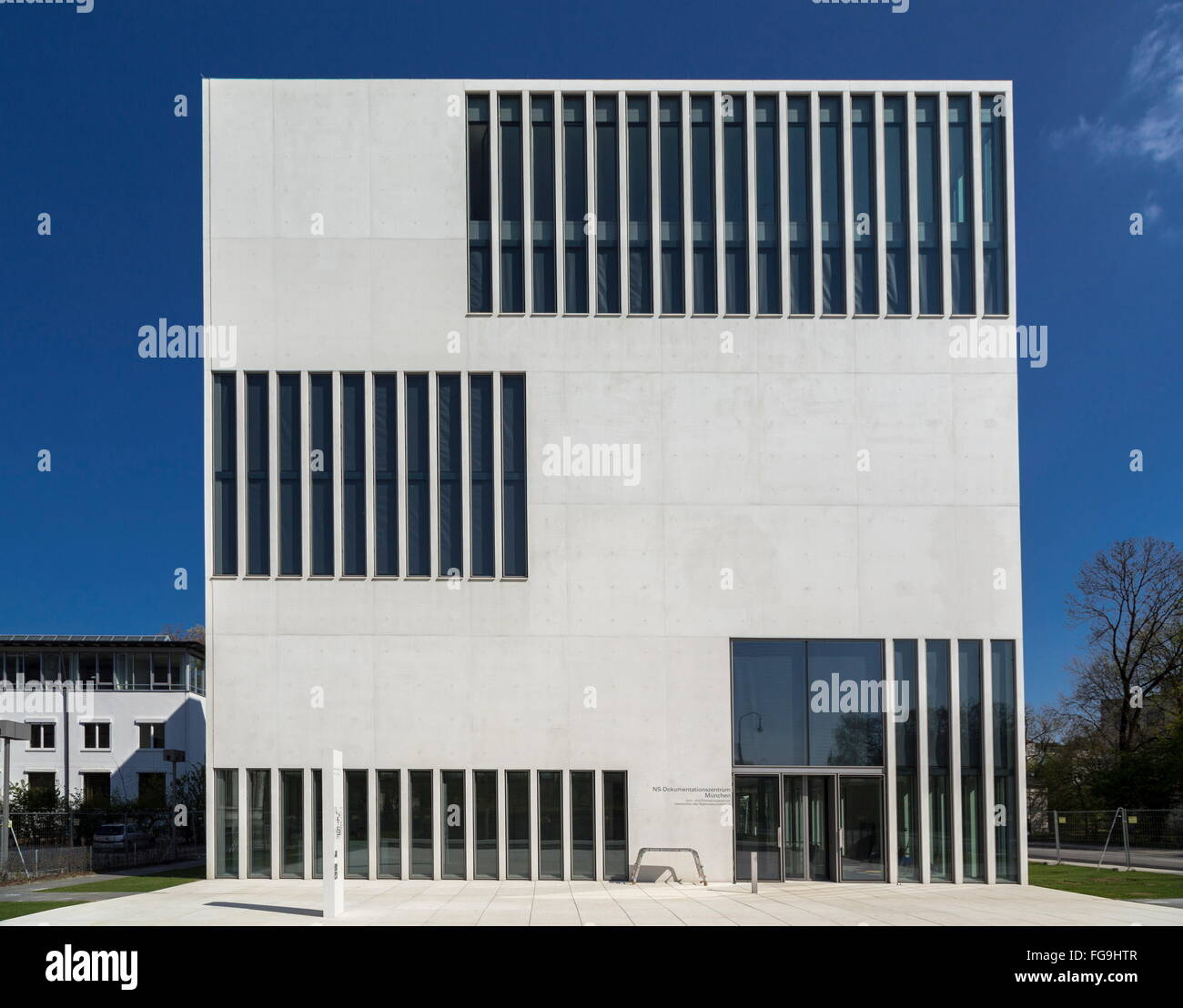 geography / travel, Germany, Bavaria, Munich, NS Documentation Centre, opening: 1.5.2015, built: 2011-2012 by Georg - Stock Image