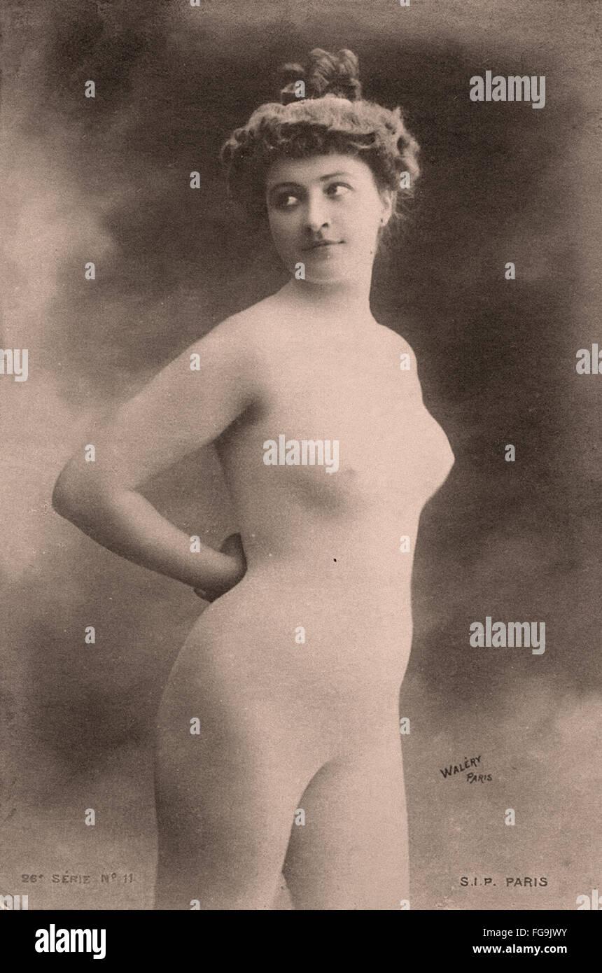 Stanislaw Walery postcard - Model - Stock Image