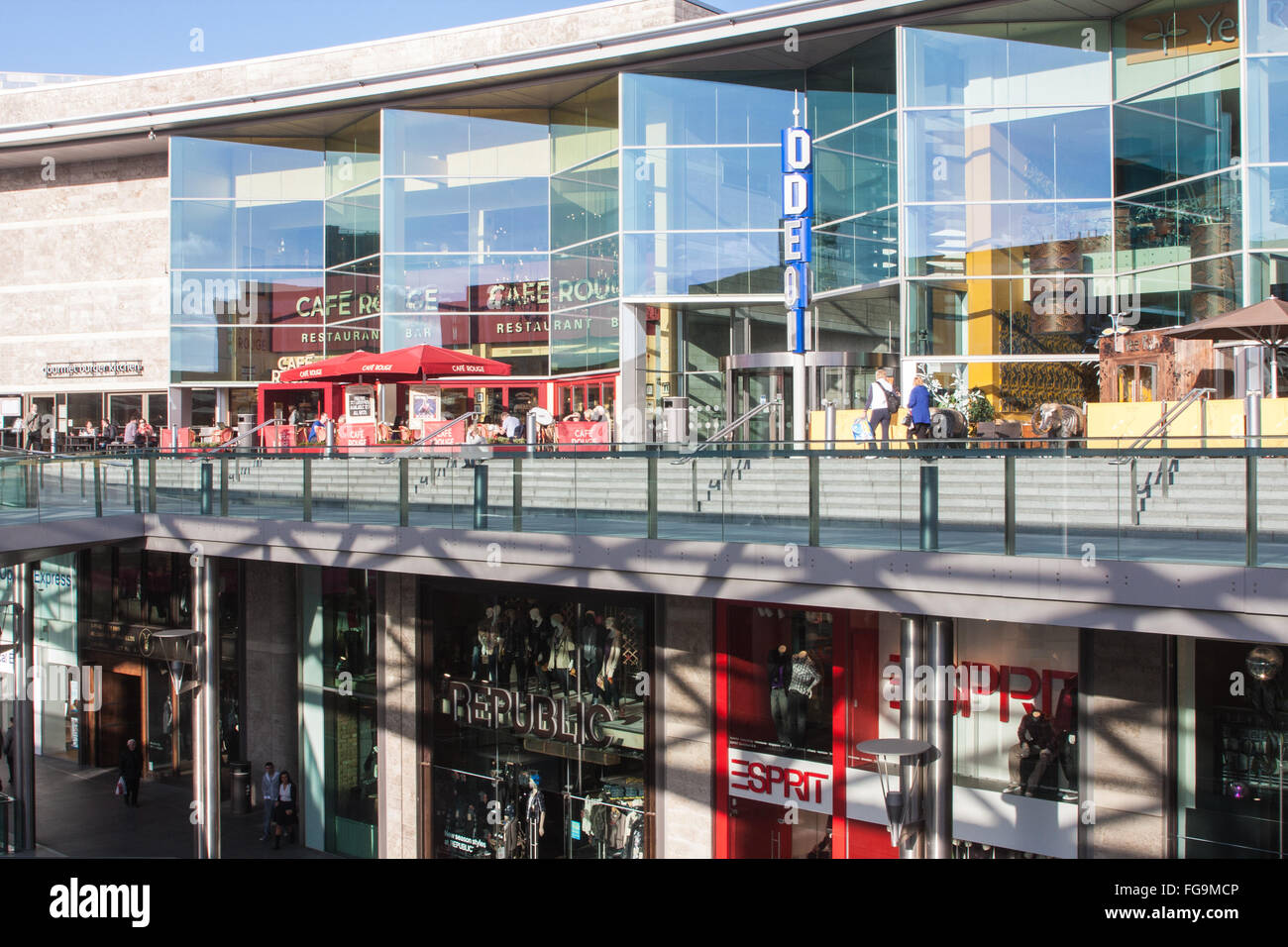 Liverpool One Shopping Mall,Centre,Center,England - Stock Image