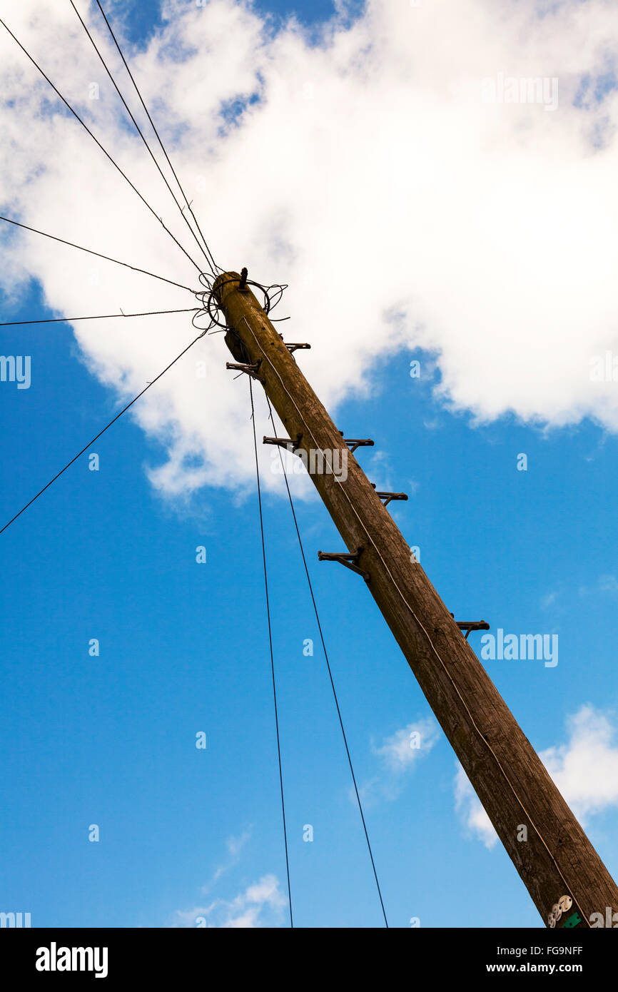 Telegraph Wires Stock Photos & Telegraph Wires Stock Images - Alamy