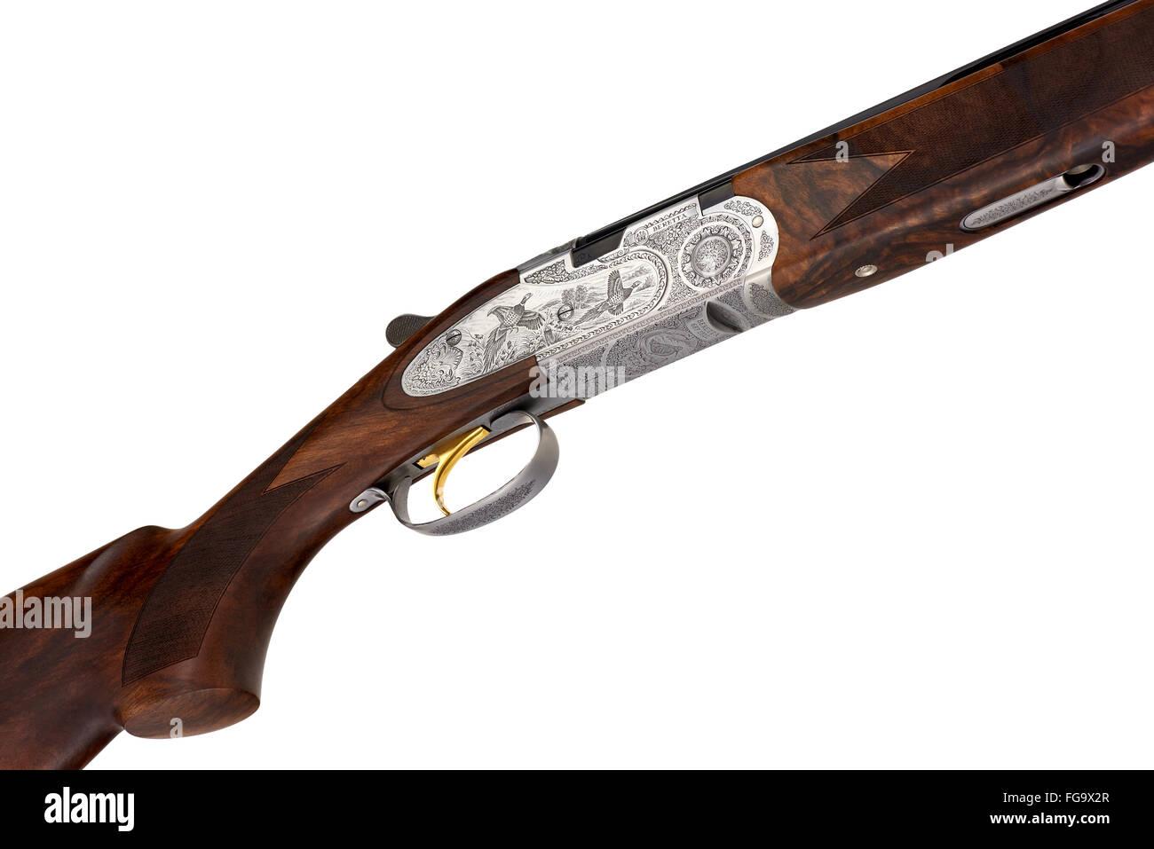 Beretta 687 EELL Diamond Pigeon 28ga over and under shotgun.