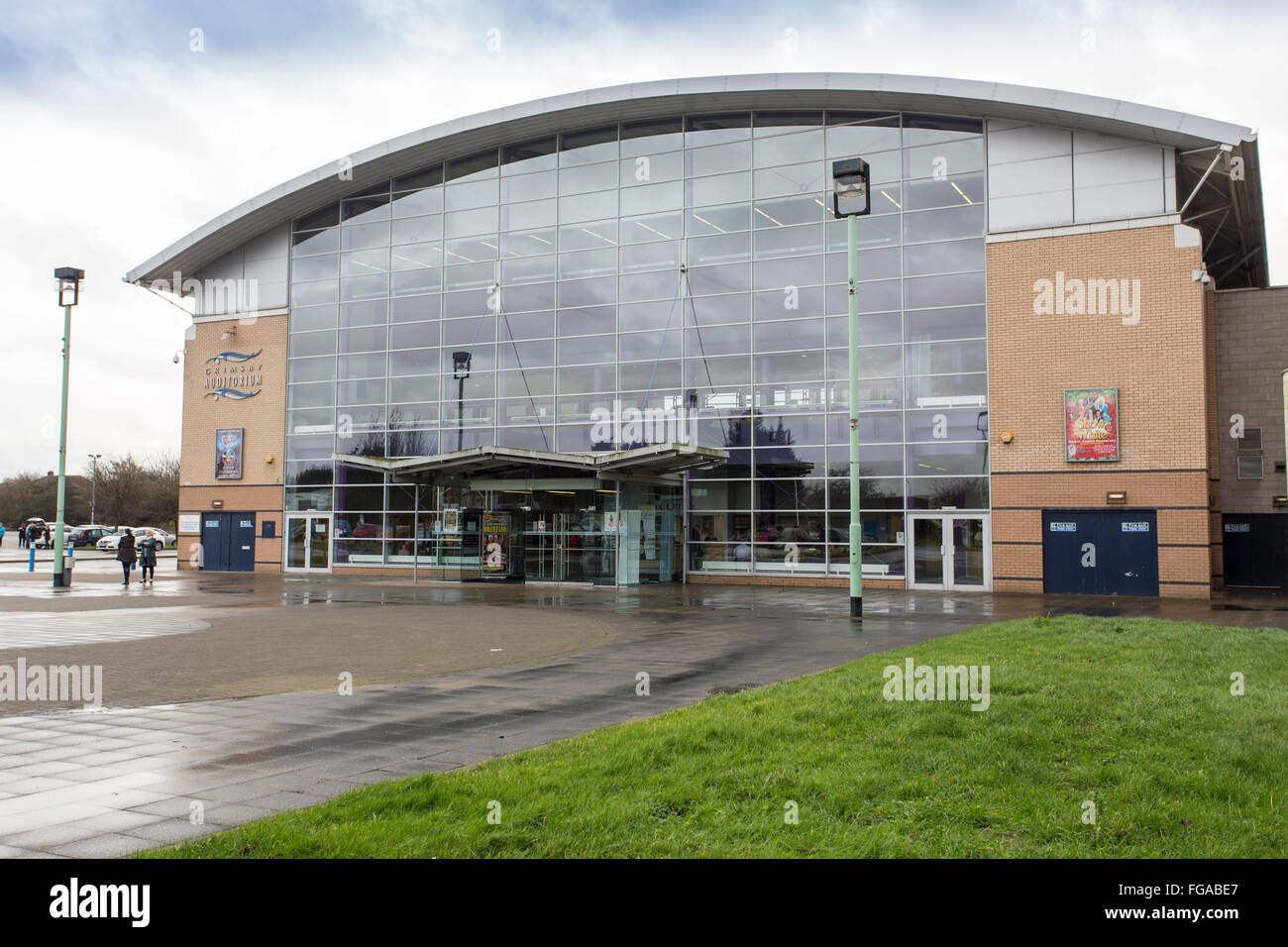 Grimsby Auditorium venue for concerts and events - Stock Image